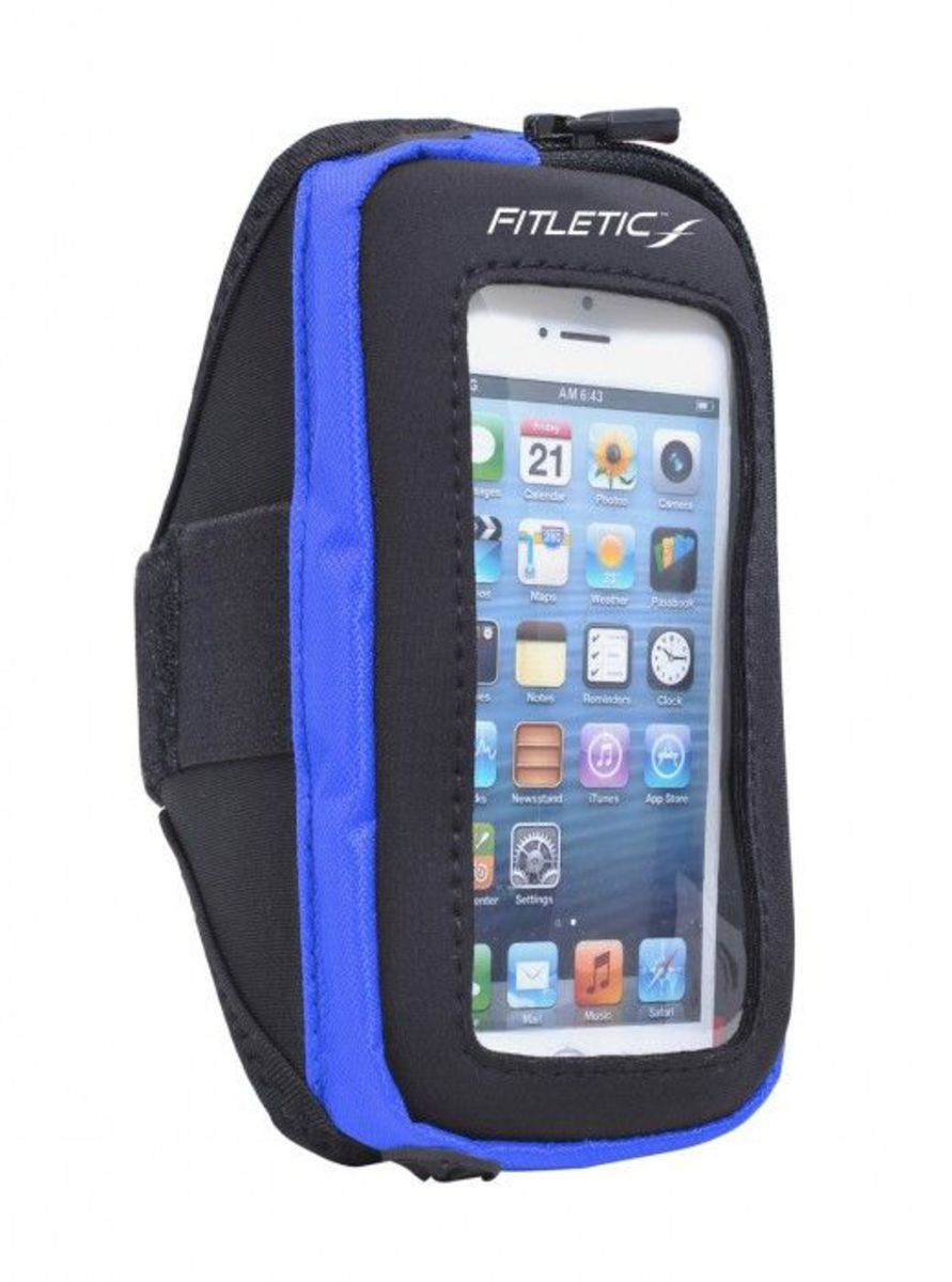 FITLETIC Fitletic Sportarmband »Smartphone Armtasche PLUS - Größe L/XL«
