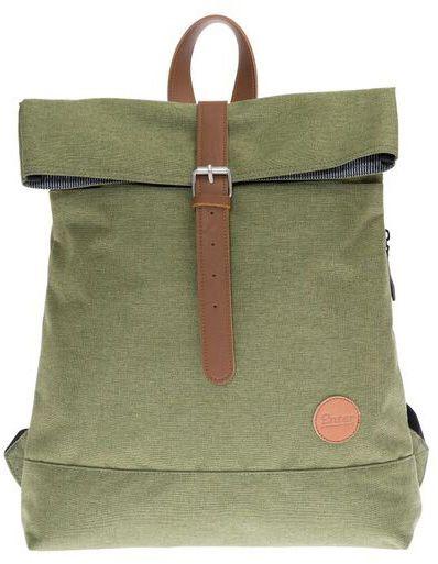 ENTER Enter Rucksack, »Fold Top Backpack, Melange Green«
