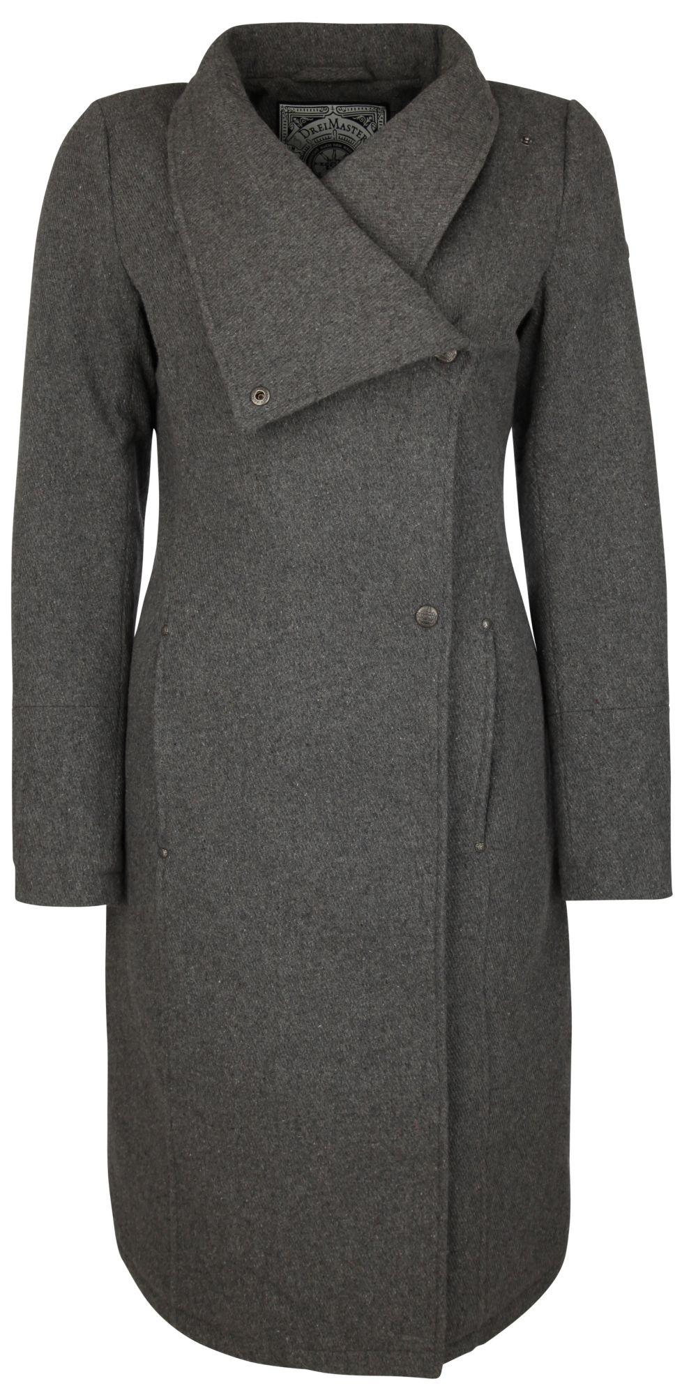 DREIMASTER  Mantel lang