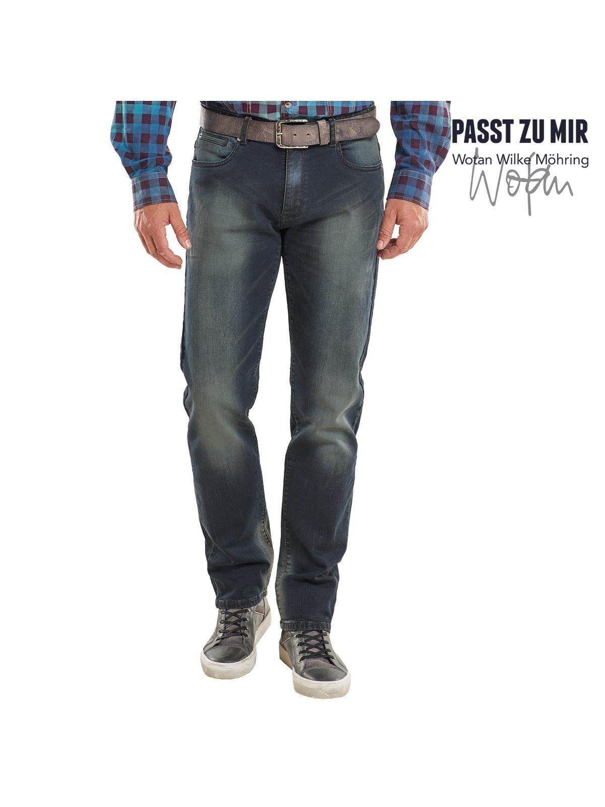 ENGBERS engbers Indigo-Black Jeans