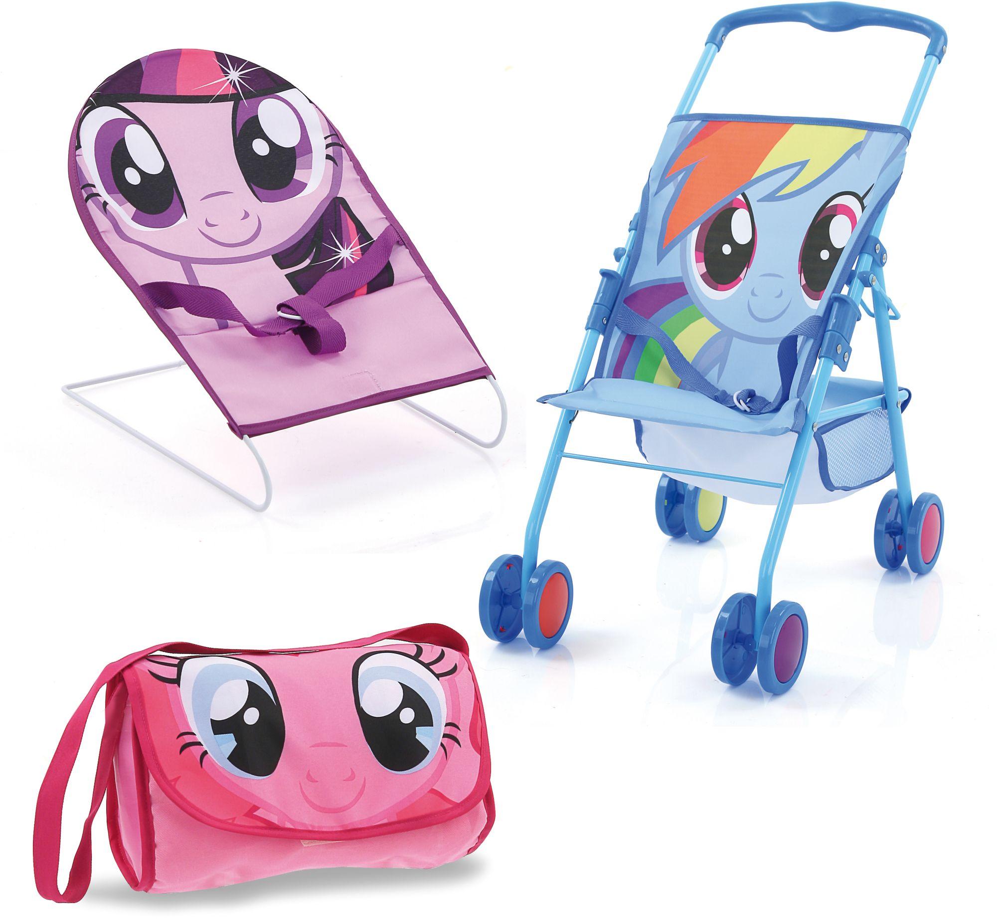 HAUCK TOYS FOR KIDS hauck TOYS FOR KIDS Puppenzubehör-Set 3tlg., »Friendship Set, My Little Pony«