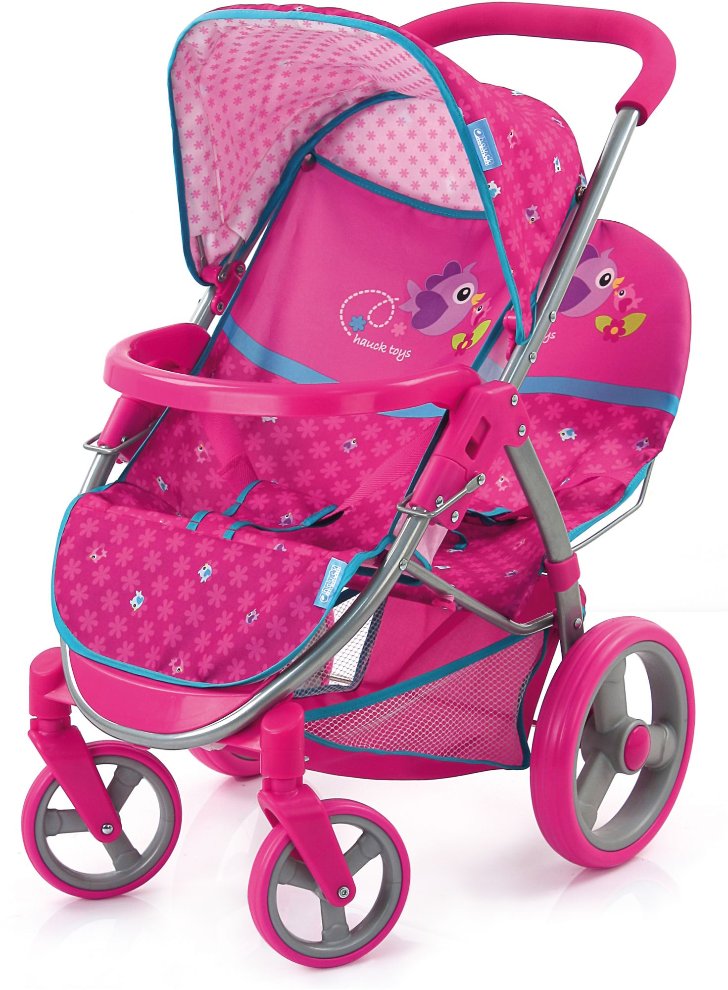 HAUCK TOYS FOR KIDS hauck TOYS FOR KIDS Puppenwagen, »Malibu Duo, Birdie Pink«