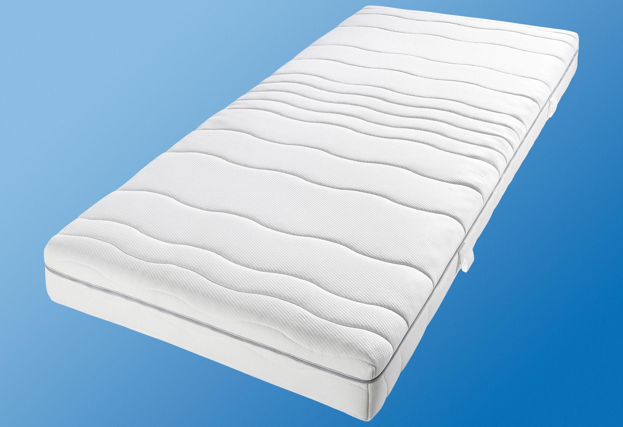 BECO Gelschaummatratze, »My Sleep Gel«, BeCo, 18 cm hoch, Raumgewicht: 28, 7 Zonen-Matratze mit Gelschaum-Topper inside