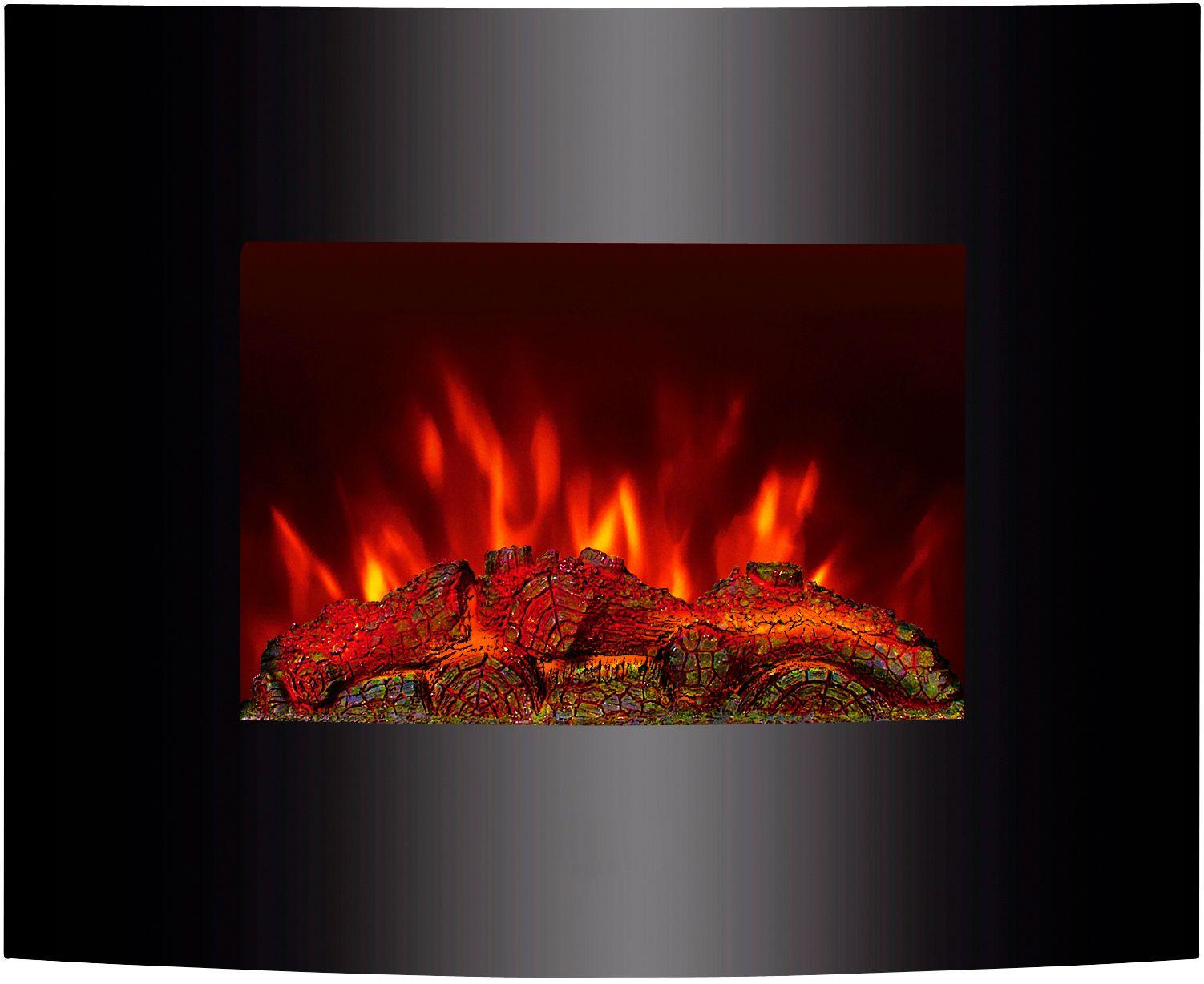 EL FUEGO El Fuego Aarau Elektrokamin mit Heizfunktion und Kaminfeuer-Effekt