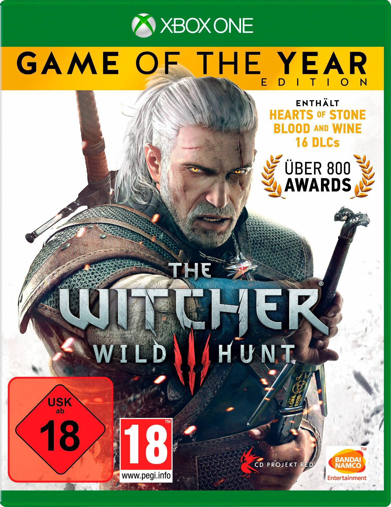 BANDAI NAMCO The Witcher 3: Wild Hunt - Game of of the Year Edition (Xbox One)