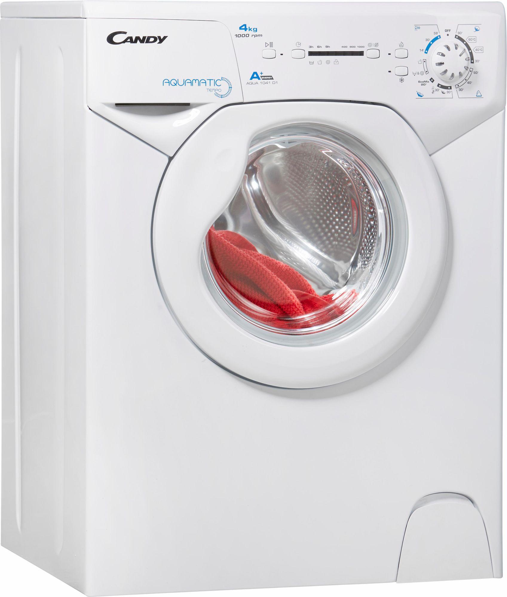 CANDY Candy Waschmaschine AQUA 1041D1, A+, 4 kg, 1000 U/Min