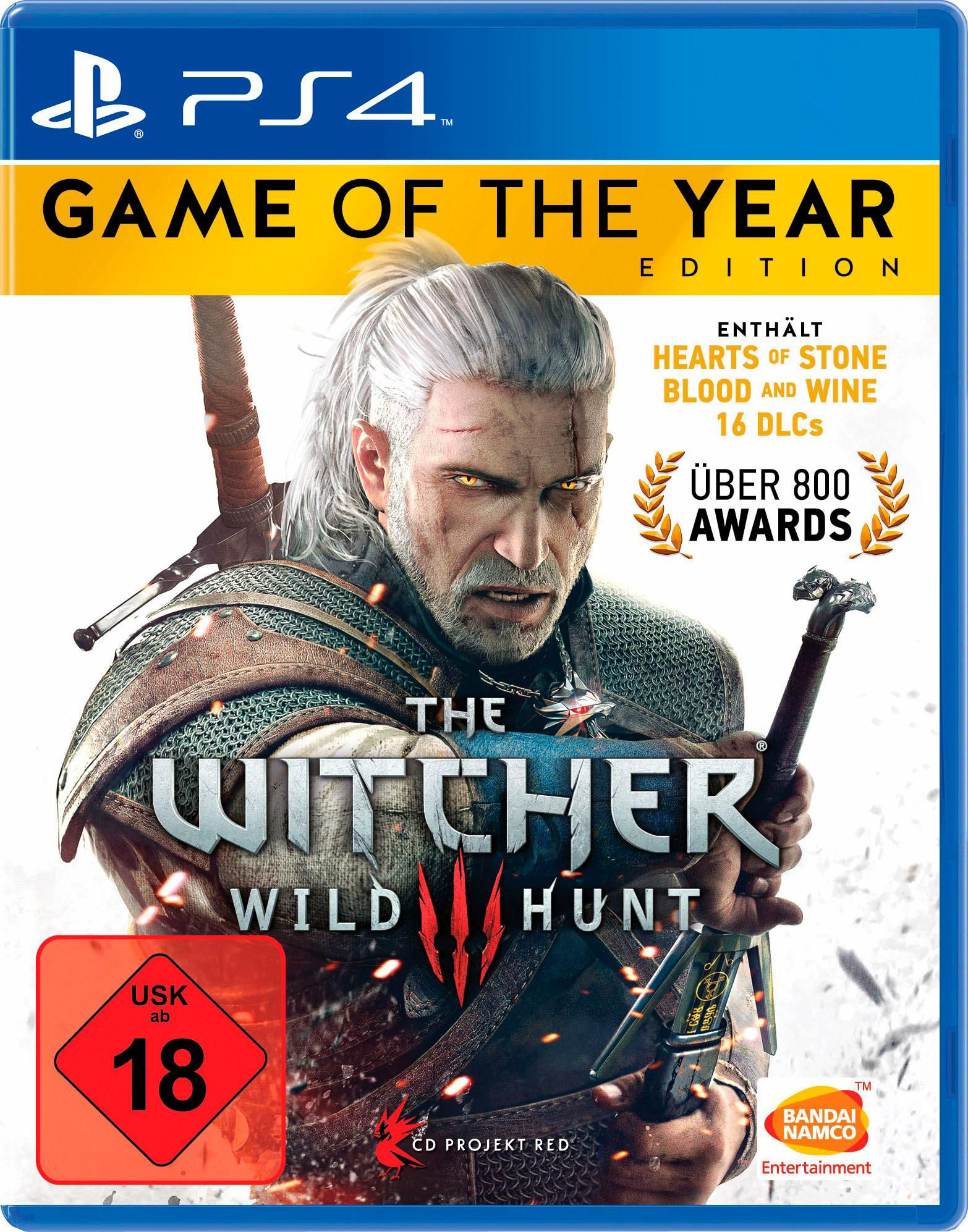 BANDAI NAMCO The Witcher 3: Wild Hunt - Game of of the Year Edition (PS4)
