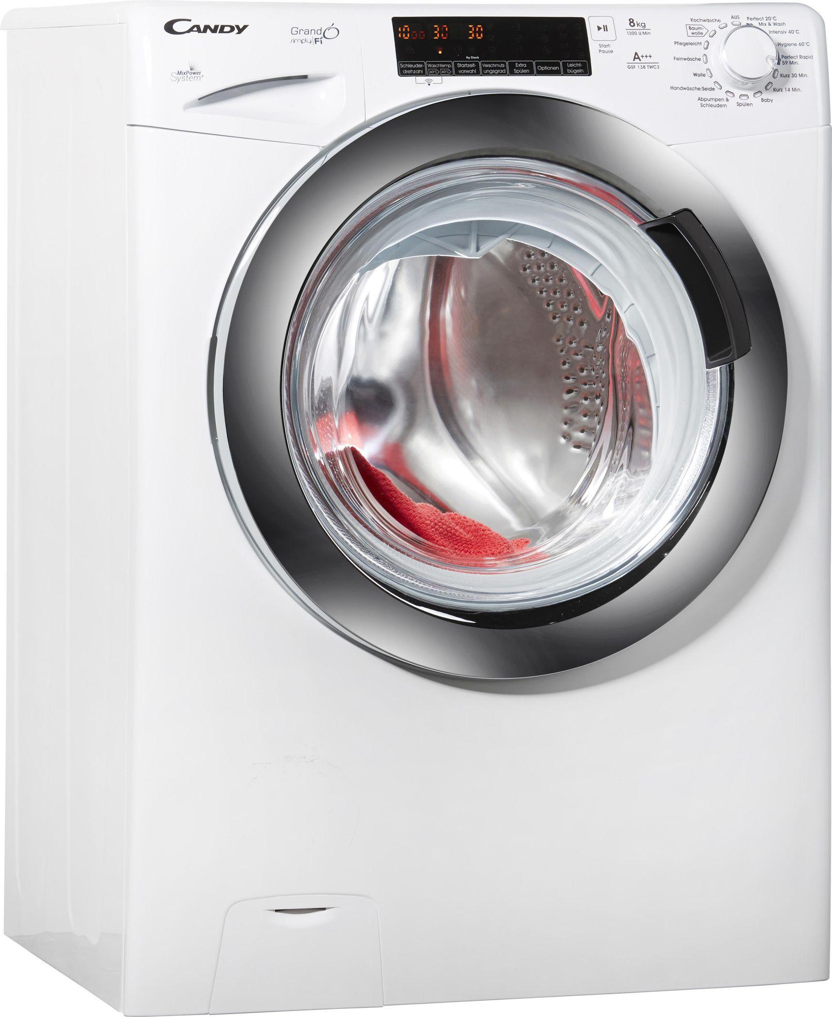CANDY Candy Waschmaschine GSF 138TWC3, A+++, 8 kg, 1300 U/Min