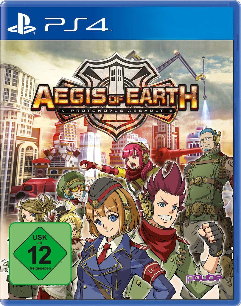 PQUBE Aegis of Earth: Protonovus Assault (PS4)