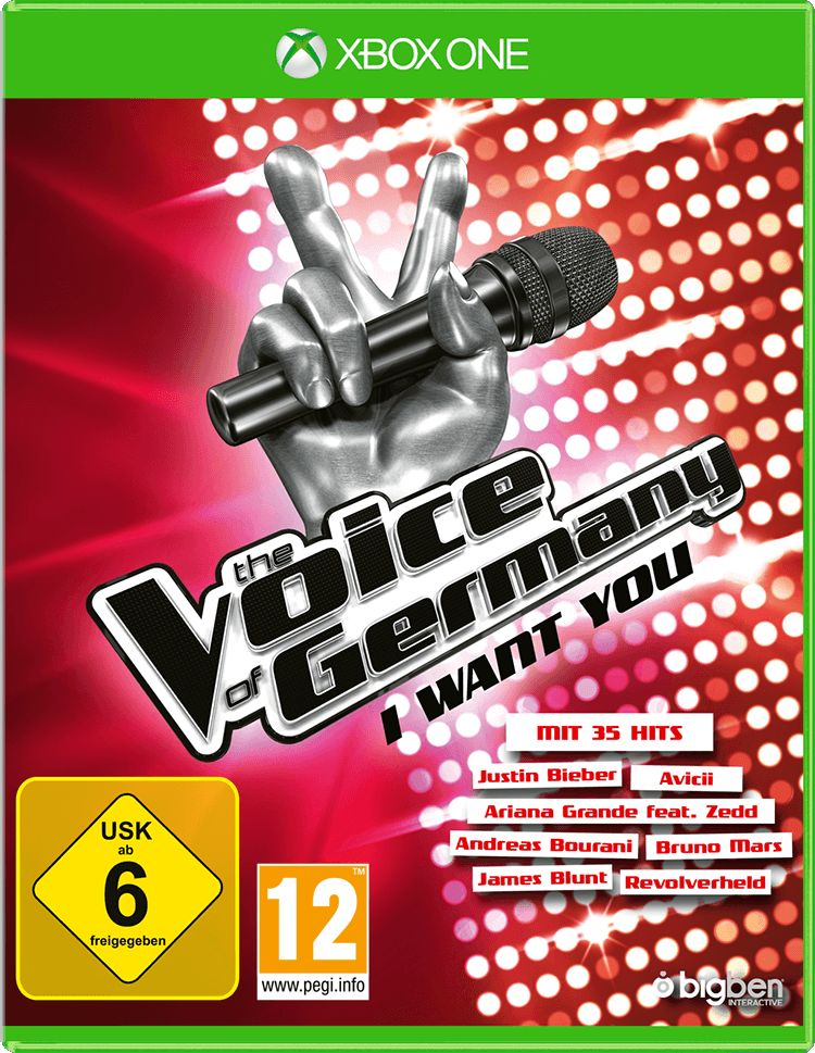 BIGBEN  The Voice of Germany - I want you »XBox One«