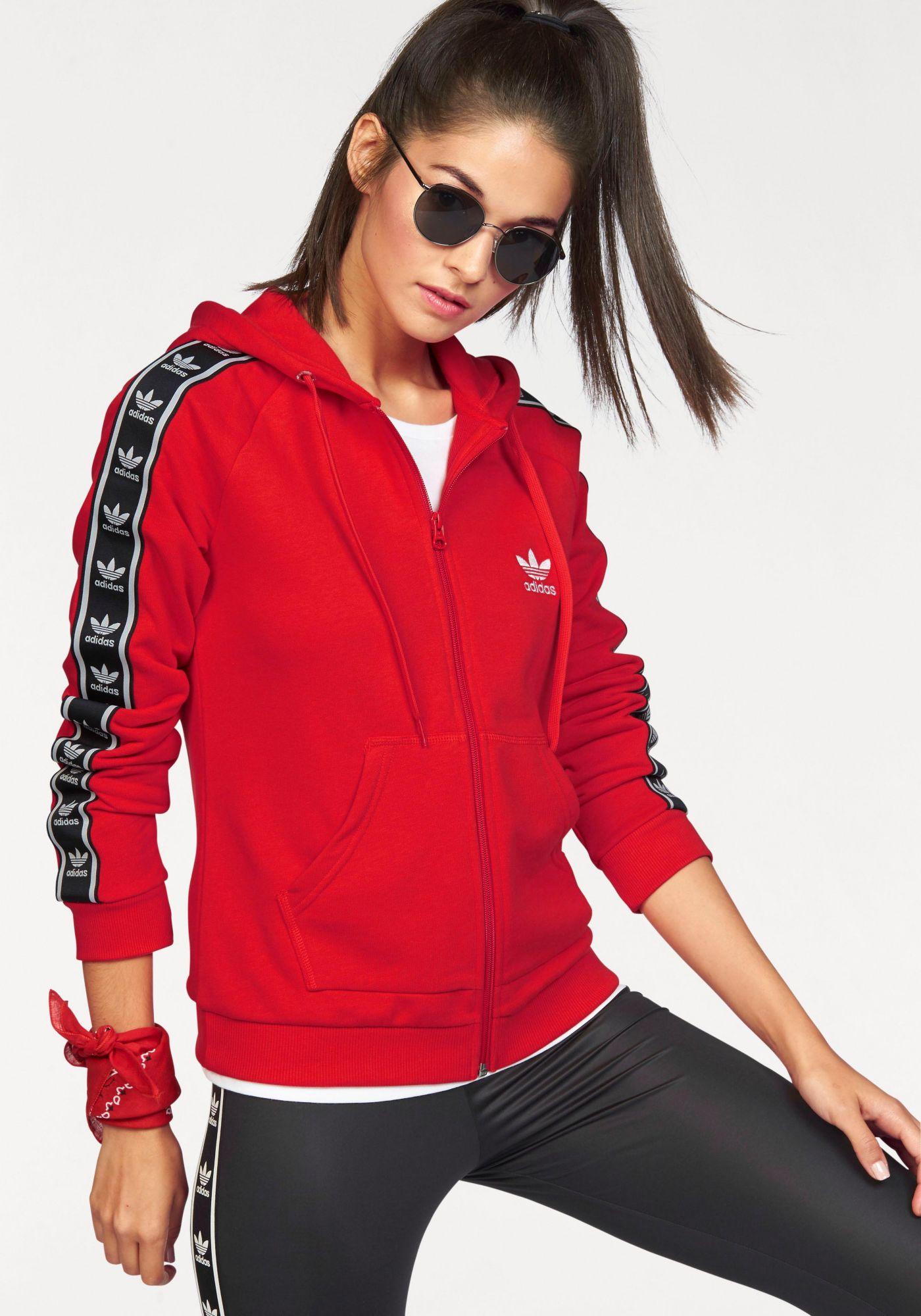 ADIDAS ORIGINALS adidas Originals Kapuzensweatjacke »SLIM FZ HOODIE«