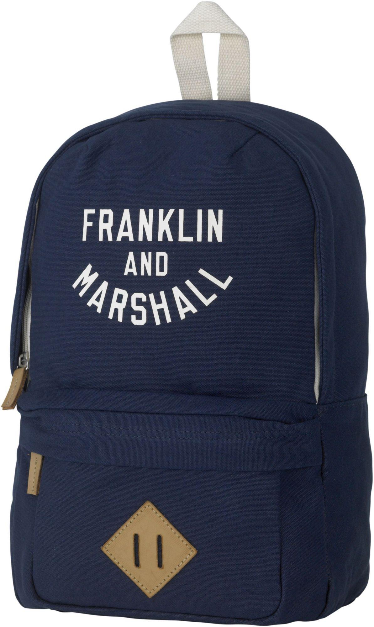 FRANKLIN MARSHALL Franklin & Marshall, Rucksack, »Boys Backpack, dunkelblau«