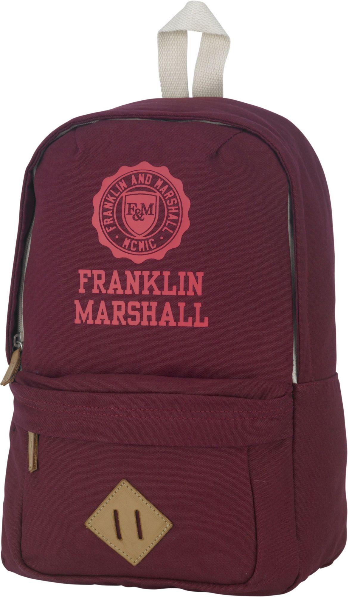 FRANKLIN MARSHALL Franklin & Marshall, Rucksack, »Girls Backpack, bordeaux rot«