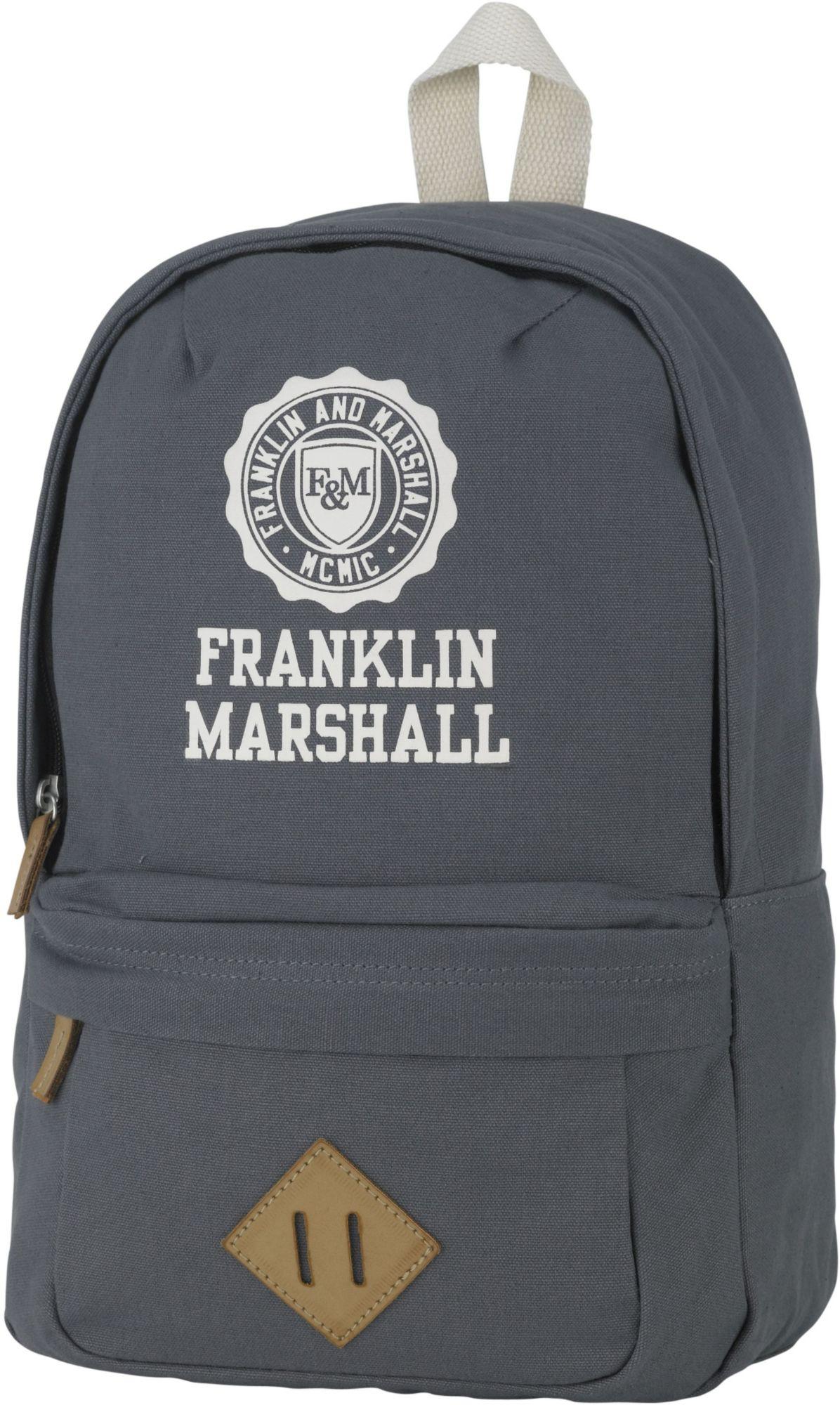 FRANKLIN MARSHALL Franklin & Marshall, Rucksack, »Boys Backpack, grau«