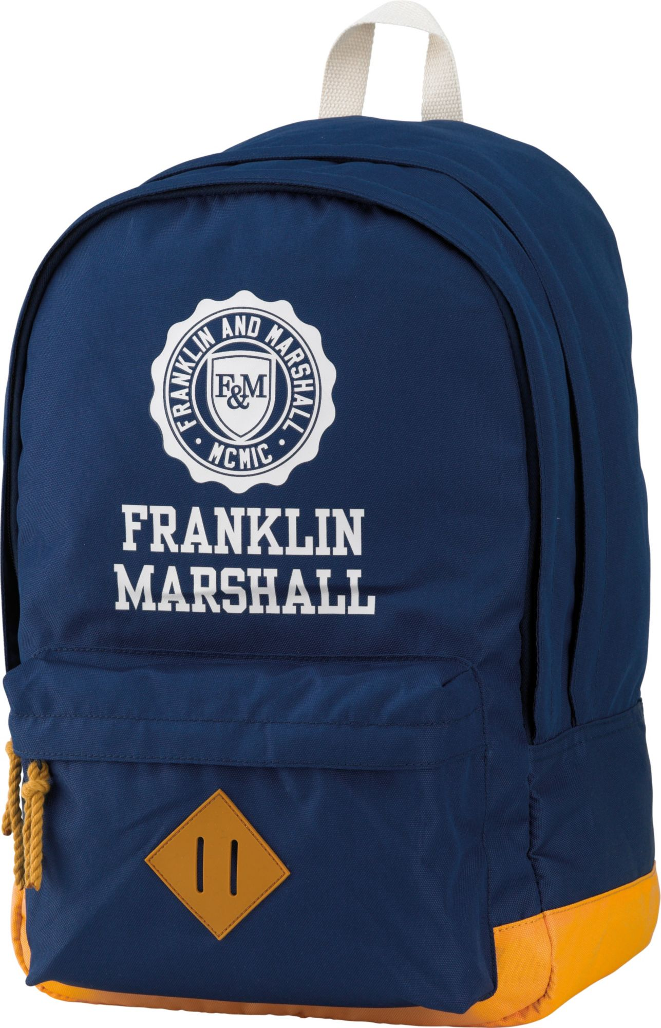 FRANKLIN MARSHALL Franklin & Marshall, Rucksack mit gummiertem Bodenschutz, »Boys Backpack dunkelblau«