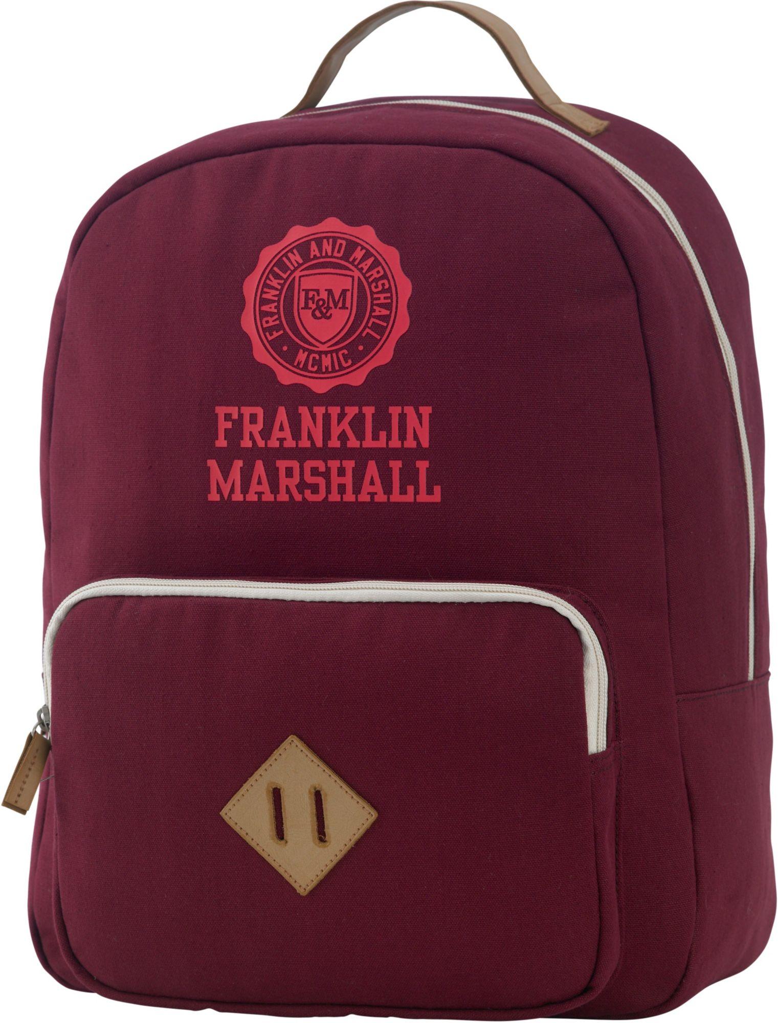 FRANKLIN MARSHALL Franklin & Marshall, Rucksack mit gepolstertem Laptopfach, »Girls Backpack, bordeaux rot«