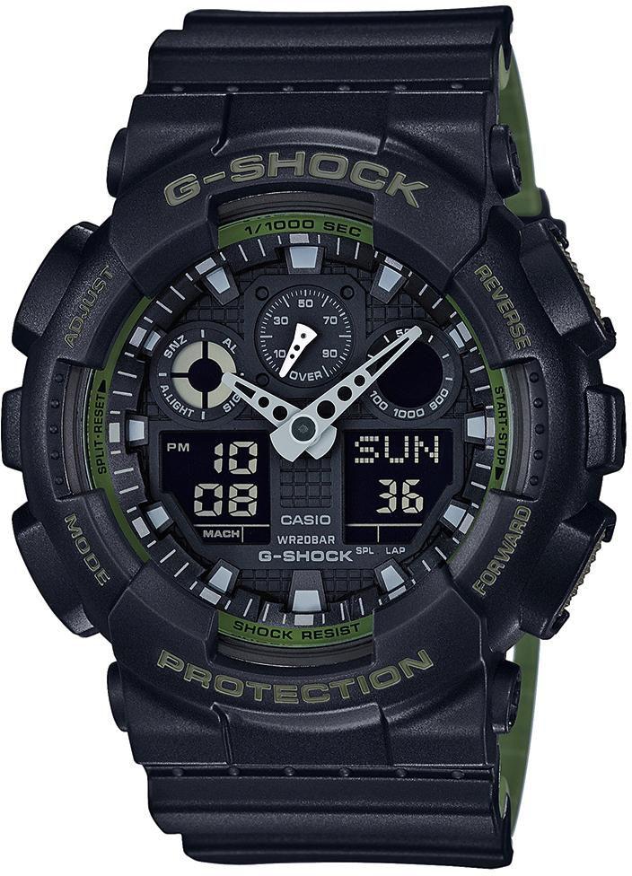 CASIO G SHOCK Casio G-Shock Chronograph »GA-100L-1AER«
