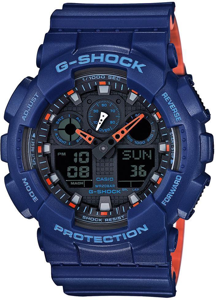 CASIO G SHOCK Casio G-Shock Chronograph »GA-100L-2AER«