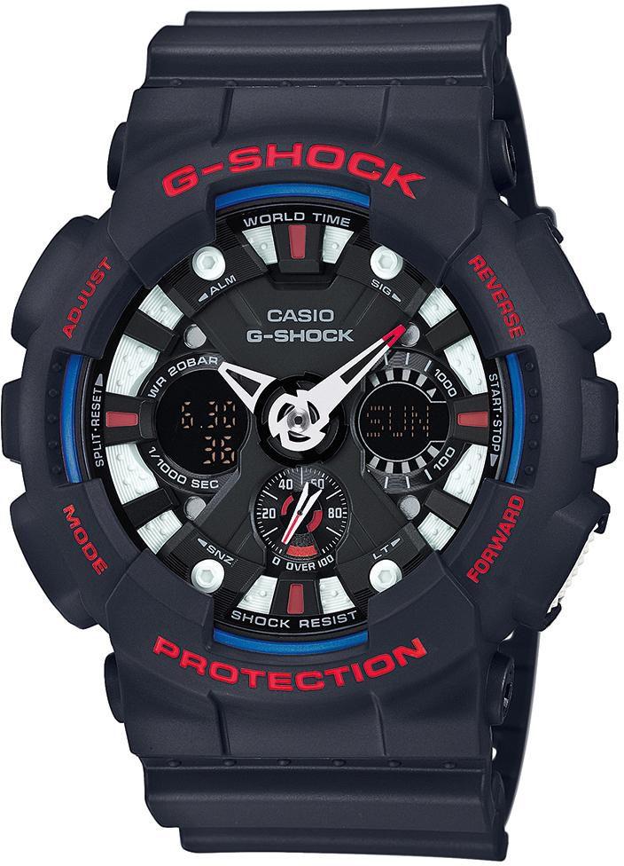 CASIO G SHOCK Casio G-Shock Chronograph »GA-120TR-1AER«