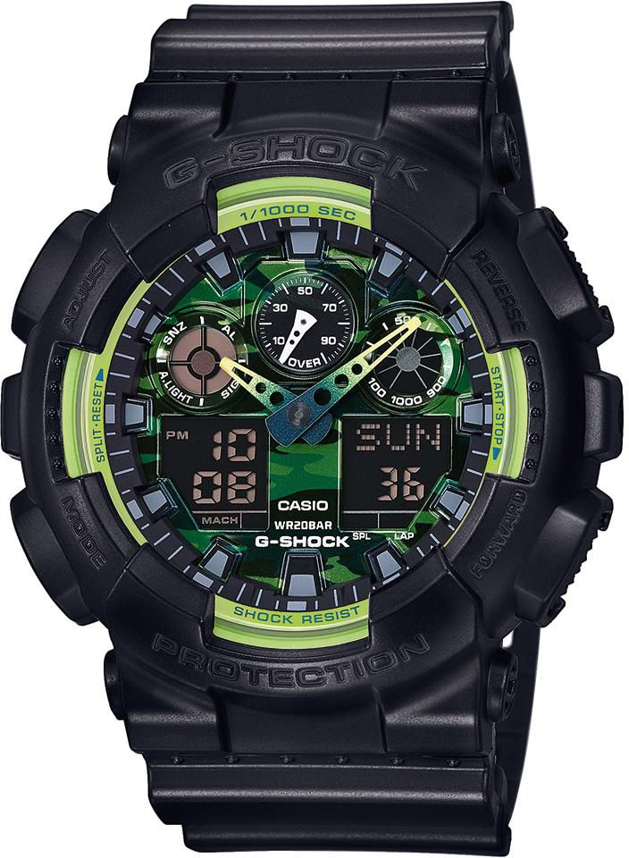CASIO G SHOCK Casio G-Shock Chronograph »GA-100LY-1AER«