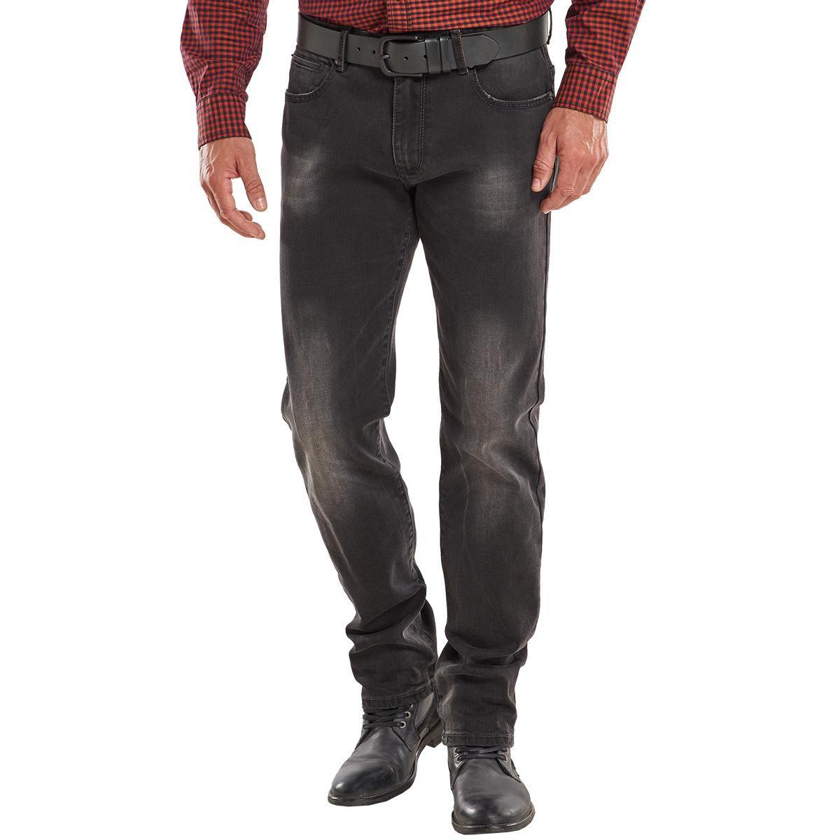 ENGBERS engbers Anthrazitfarbene Jeans