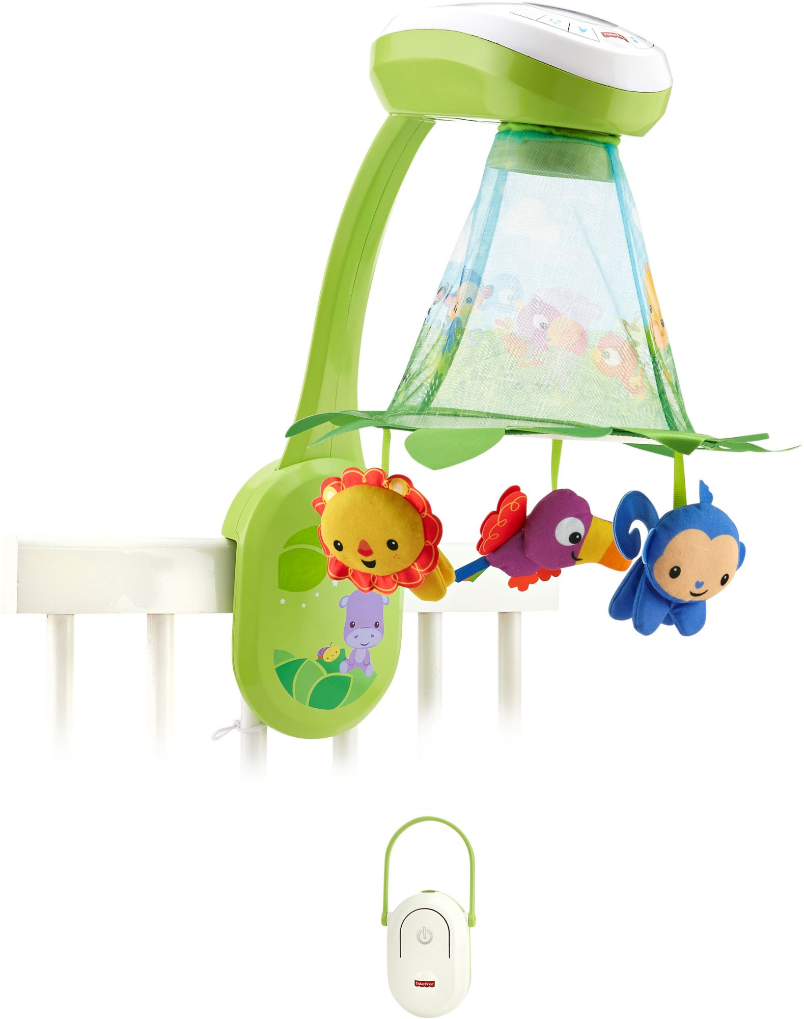 FISHER PRICE Fisher Price Mobile, »2 in1 Rainforest Musikmobile«
