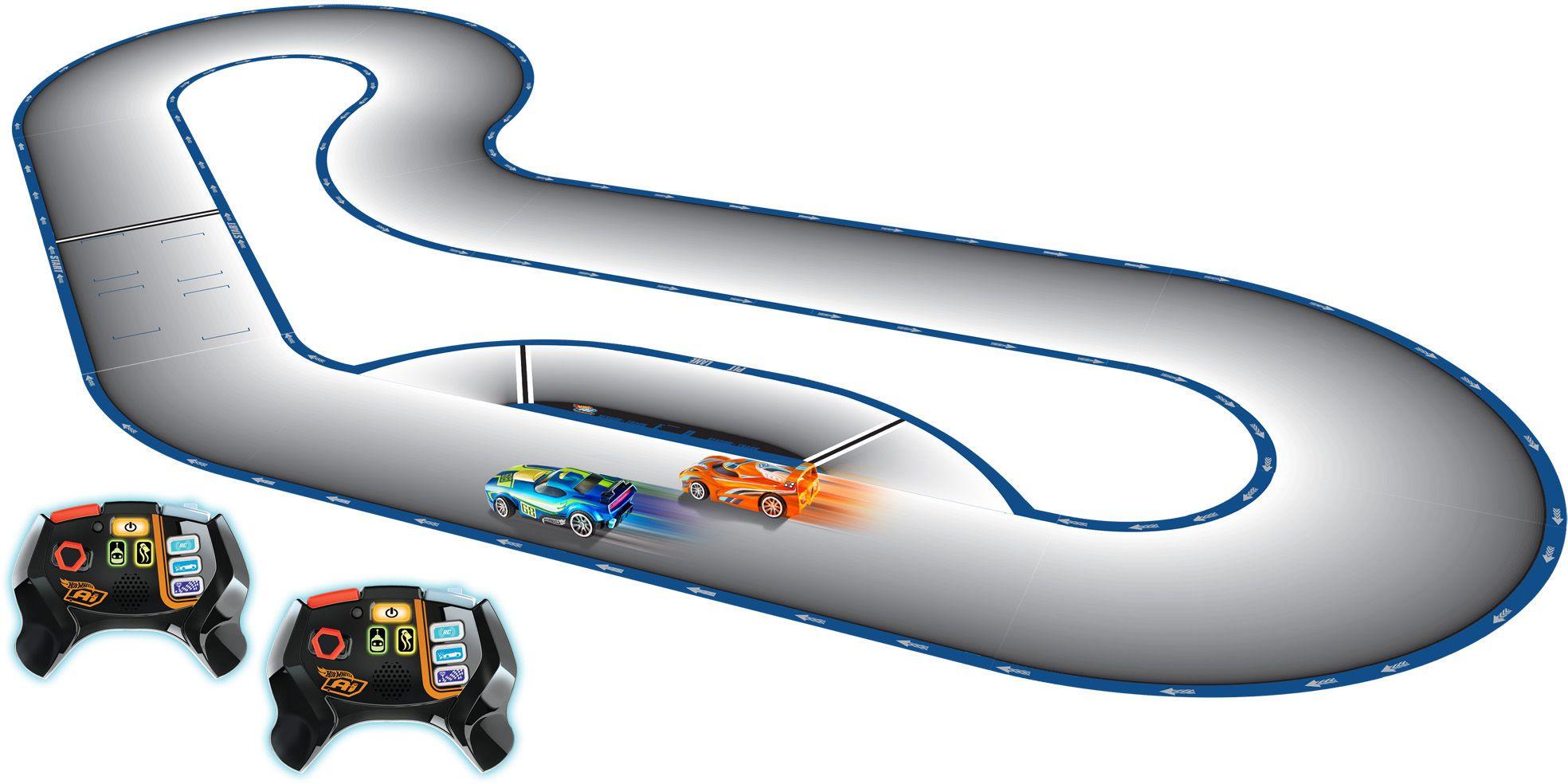 MATTEL A.I.- Intelligent Race System, Rennbahn