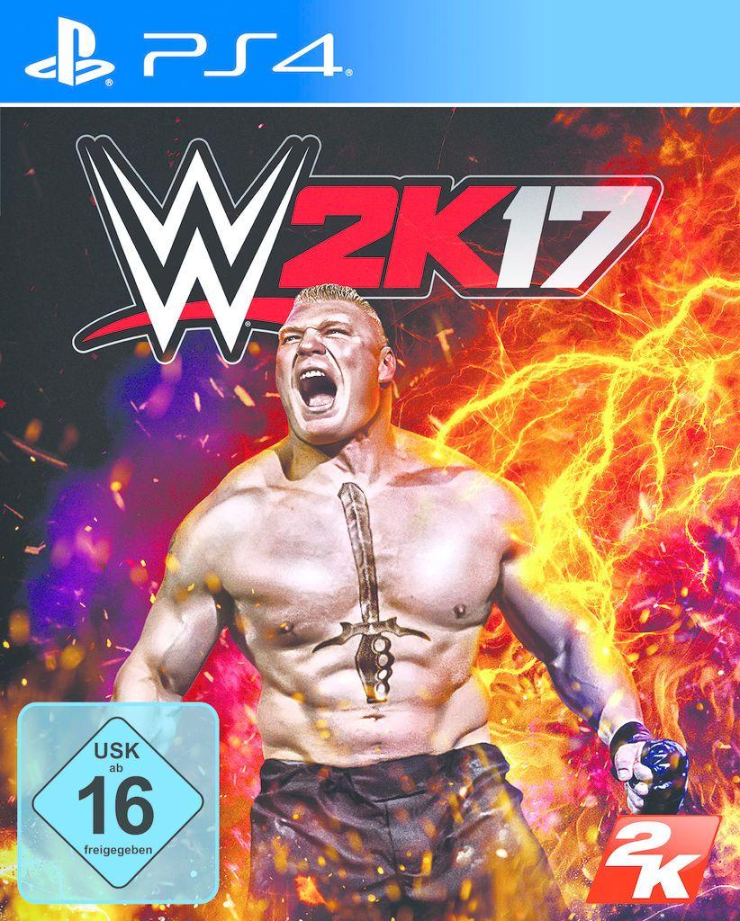 2K  Playstation 4 - Spiel »WWE 17«