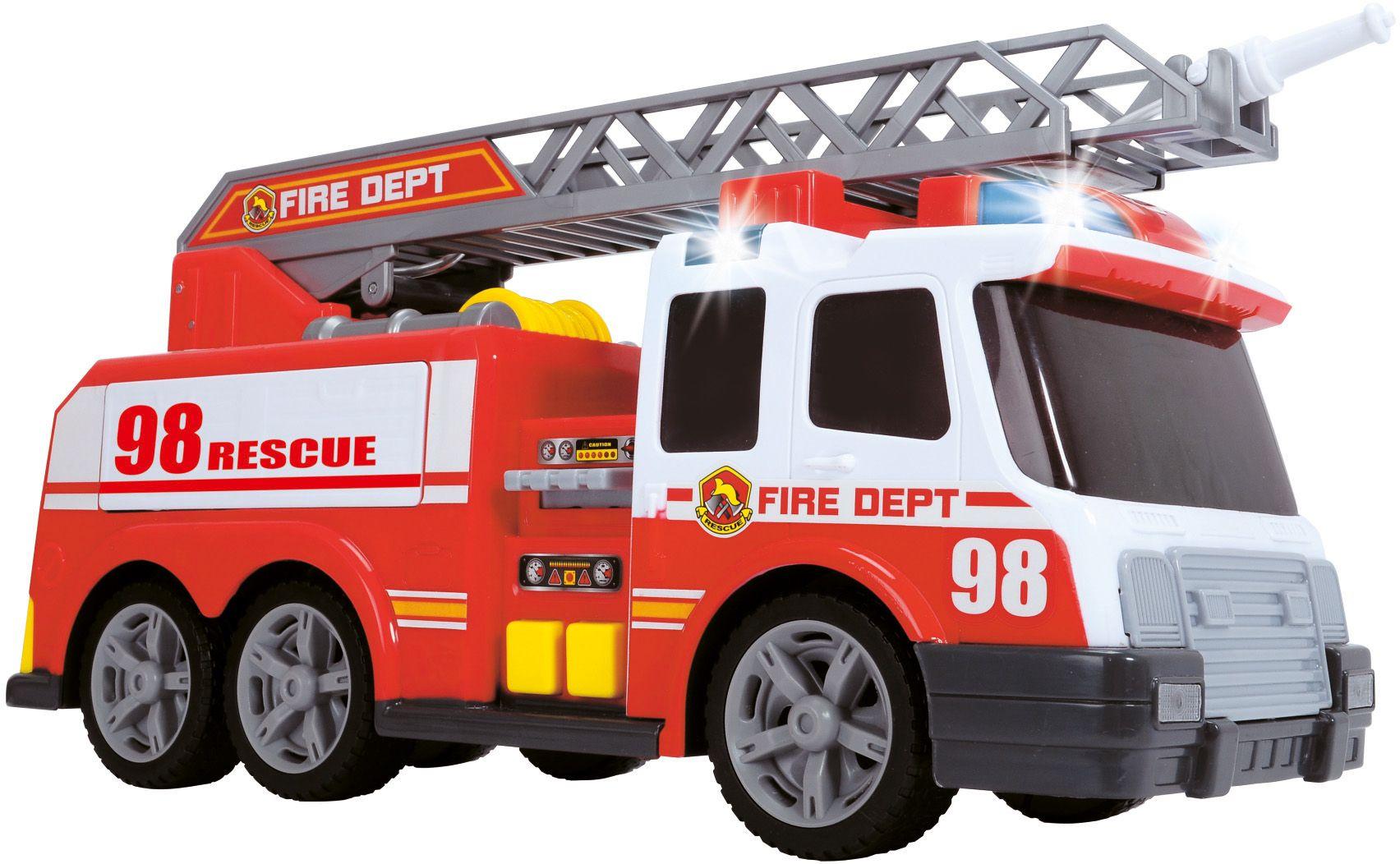DICKIE TOYS Dickie Toys Feuerwehrauto mit Licht, Sound und Spritzfunktion, »Fire Engine«