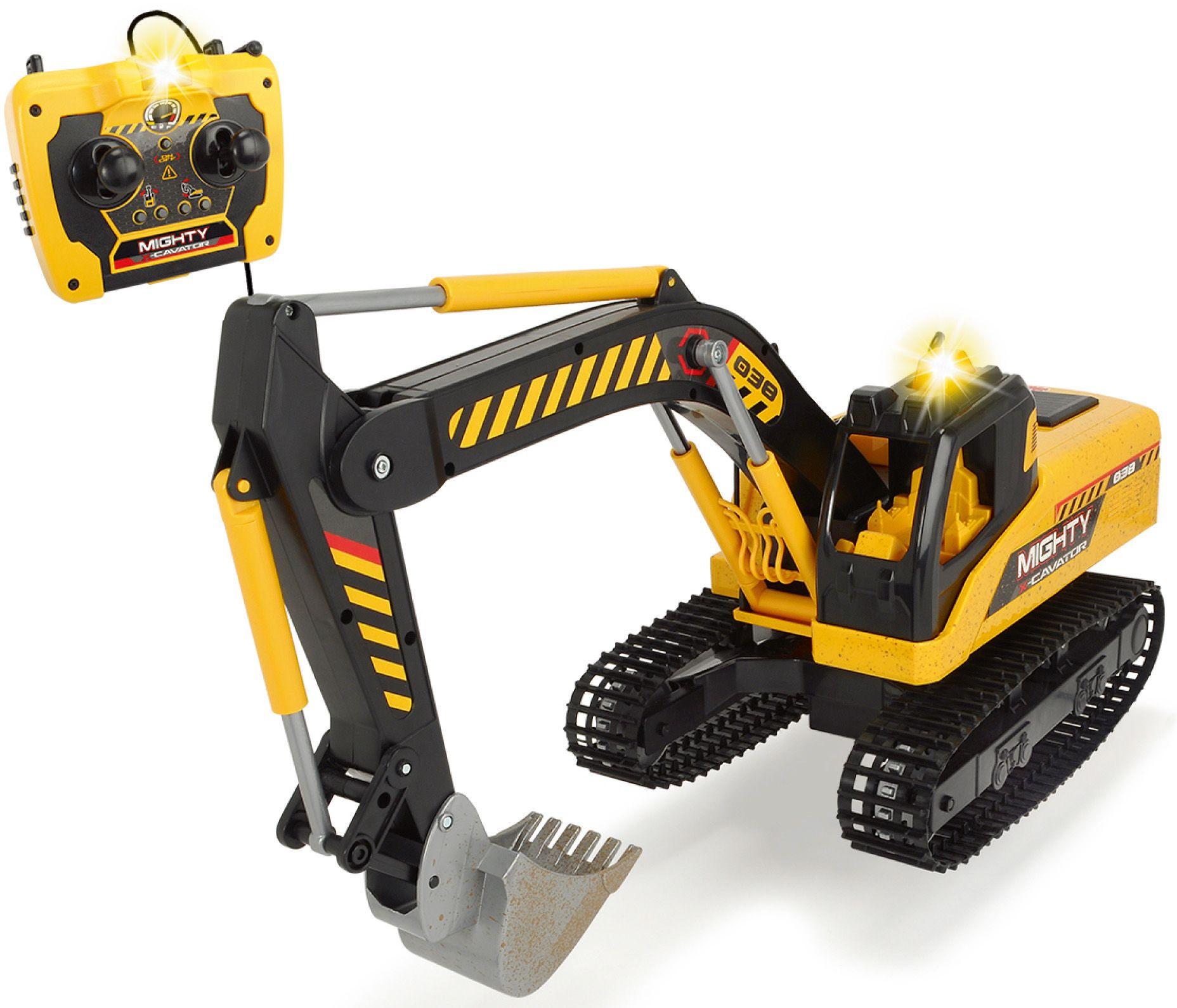 DICKIE TOYS Dickie Toys Kabelgesteuerter Bagger, »Mighty Excavator«
