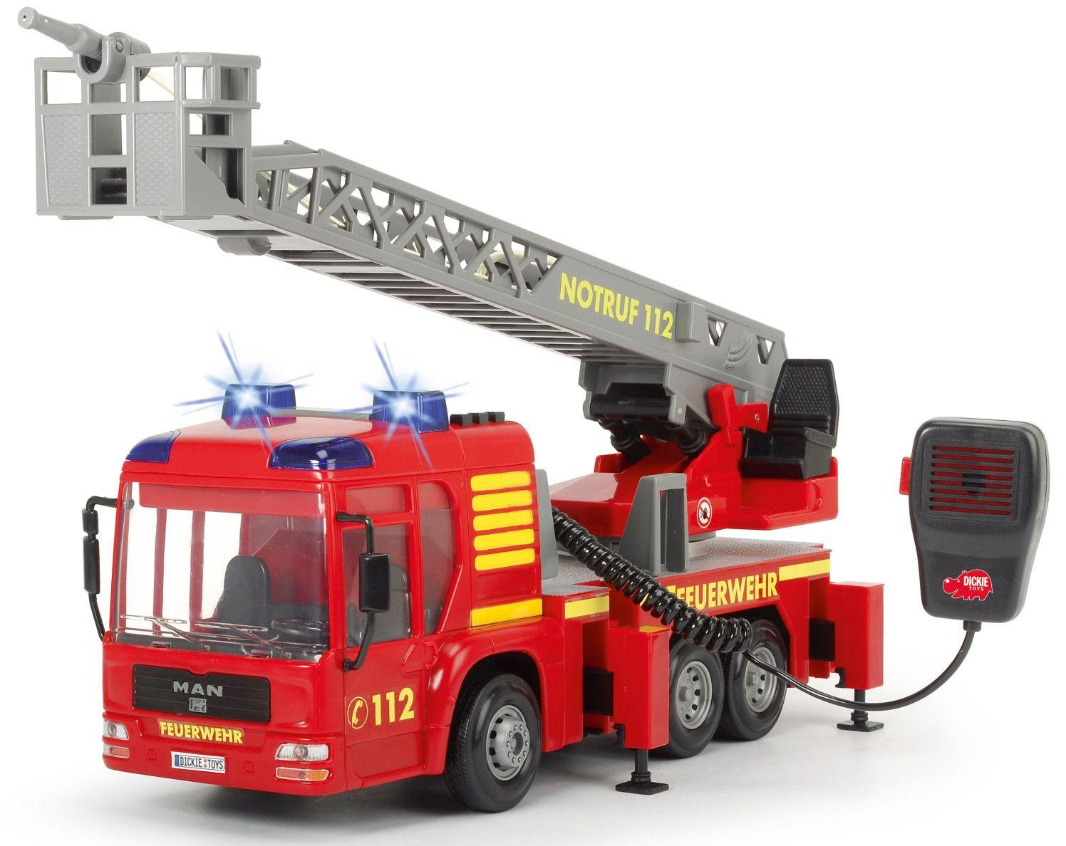 DICKIE TOYS Dickie Toys Spiellöschfahrzeug mit Wasserspritze, »Fire Hero«