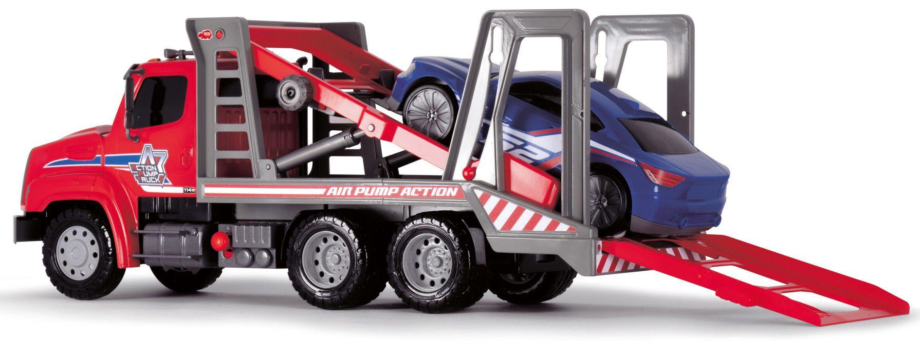 DICKIE TOYS Dickie Toys LKW, »Air Pump Car Transporter«