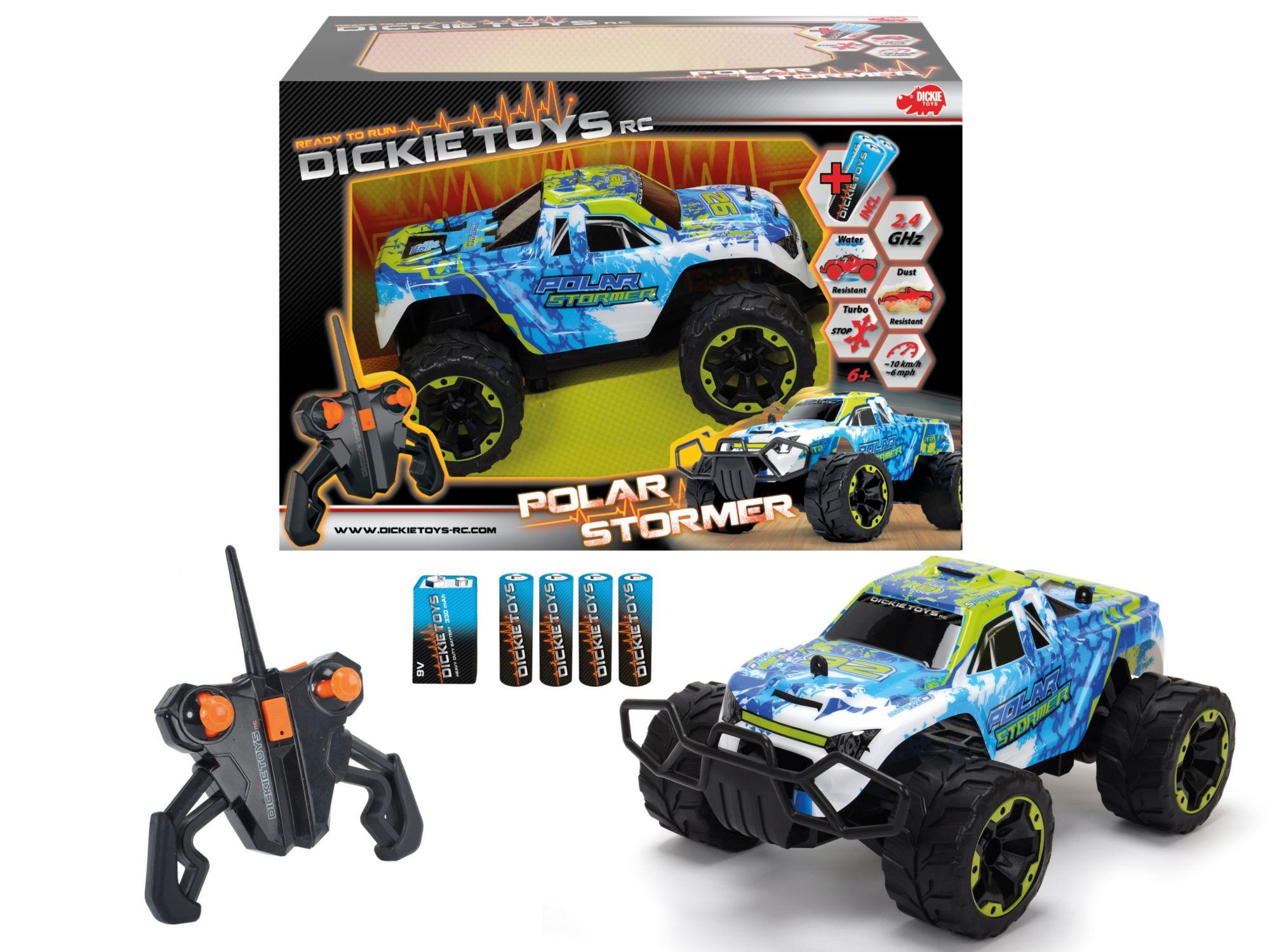 DICKIE TOYS Dickie Toys RC Komplett Set, »Polar Stormer 2,4 GHz 1:16«
