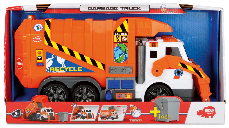 DICKIE TOYS Dickie Toys Müllwagen mit Licht und Sound, »Action Series Garbage Truck«