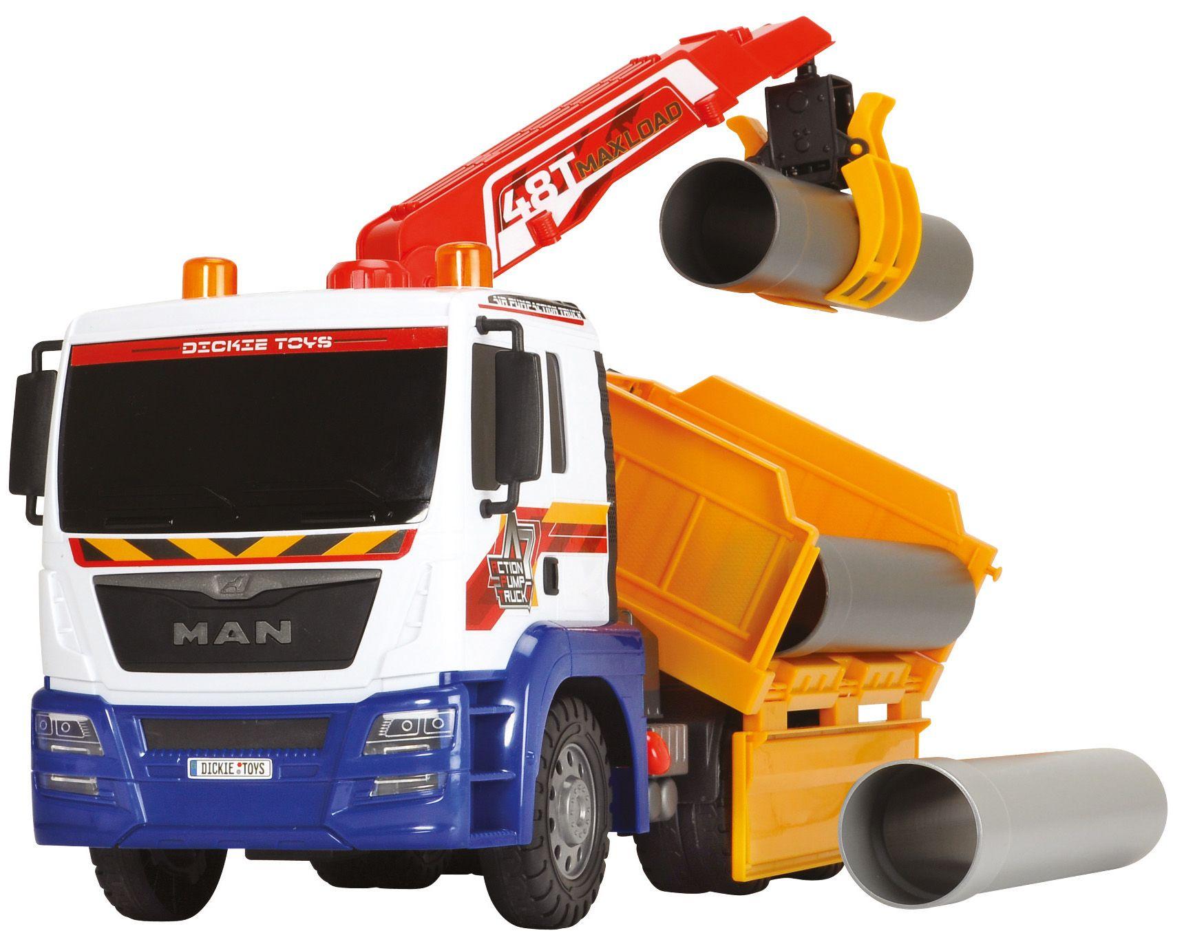 DICKIE TOYS Dickie Toys LKW, »Air Pump Utility Truck«