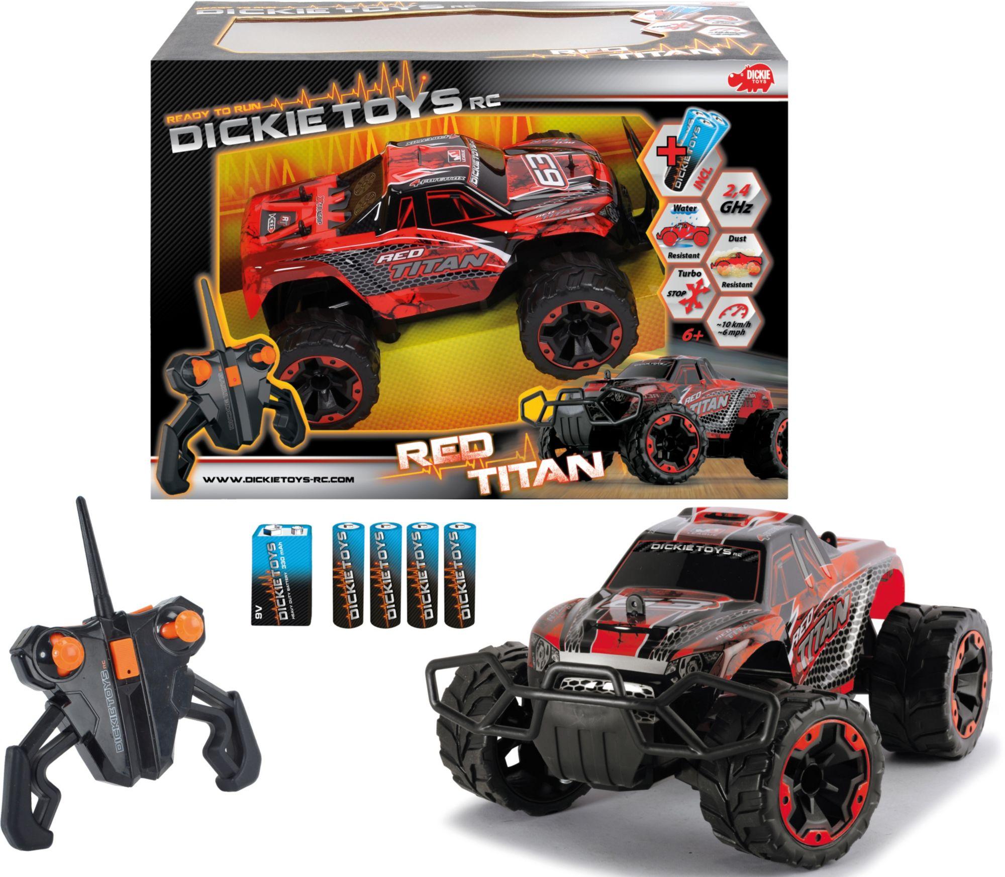 DICKIE TOYS Dickie Toys RC Komplett Set, »Red Titan 2,4 GHz 1:16«