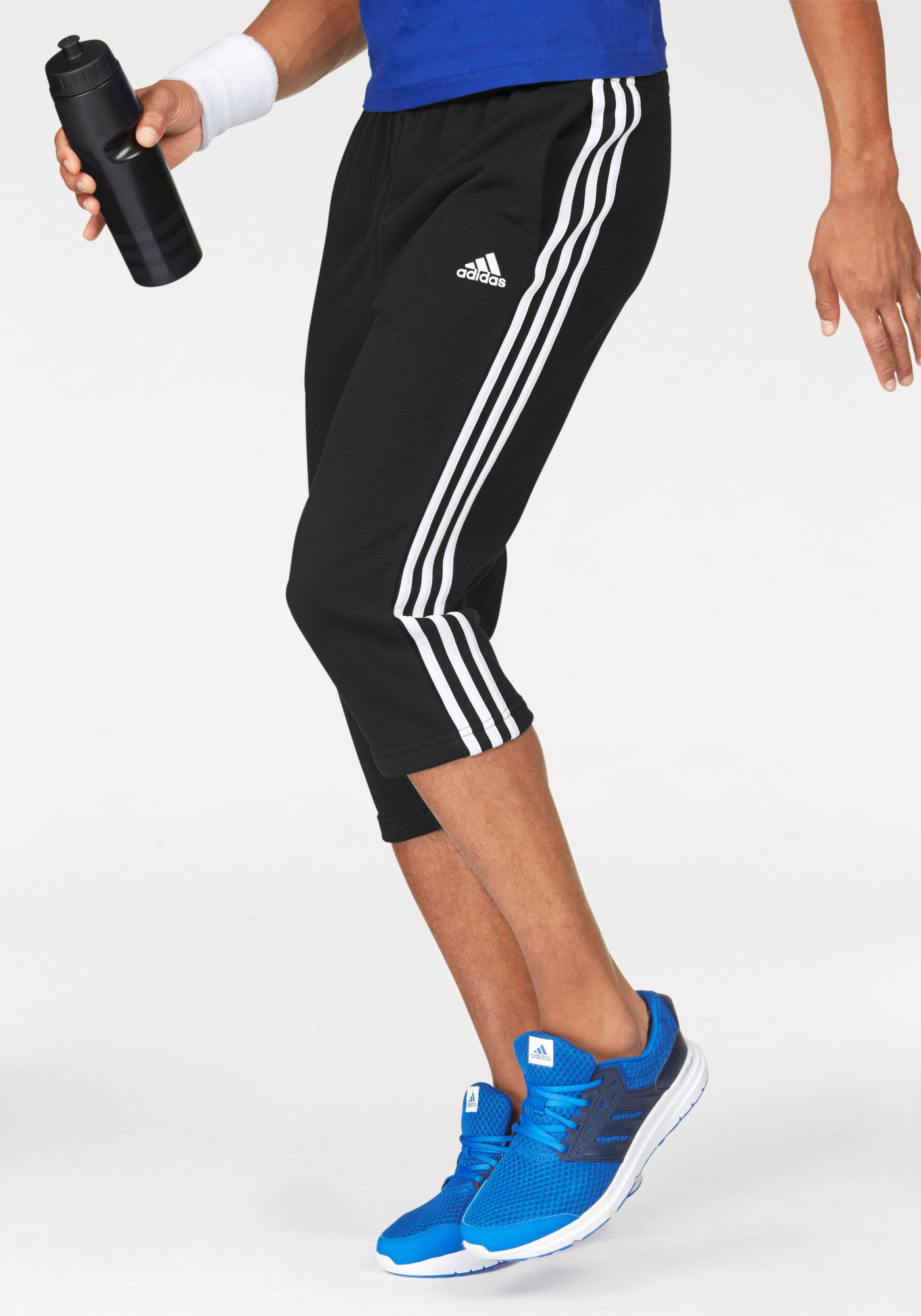 ADIDAS PERFORMANCE adidas Performance 3/4-Hose »ESSENTIALS 3S 3/4 FRENCH TERRY PANT«