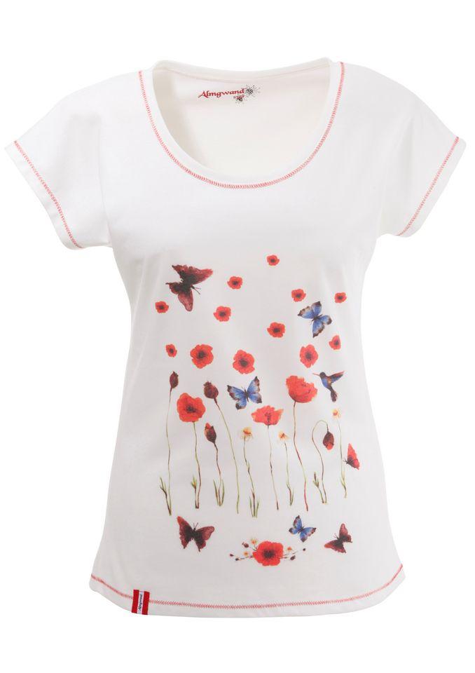 ALMGWAND Almgwand Trachtenshirt Damen mit Frontprint