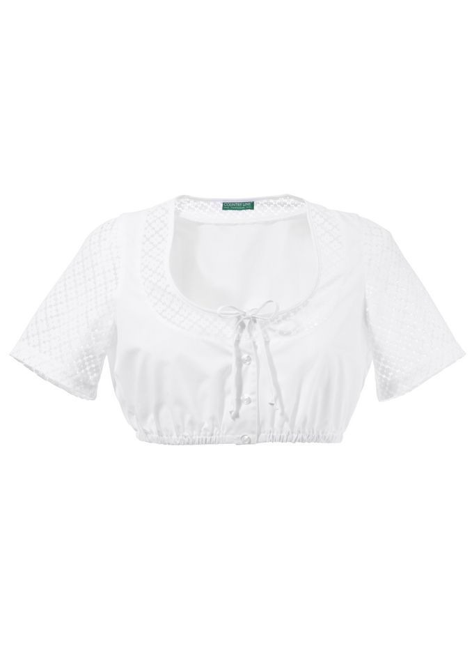 COUNTRY LINE Country Line Dirndlbluse mit reizender Musterung