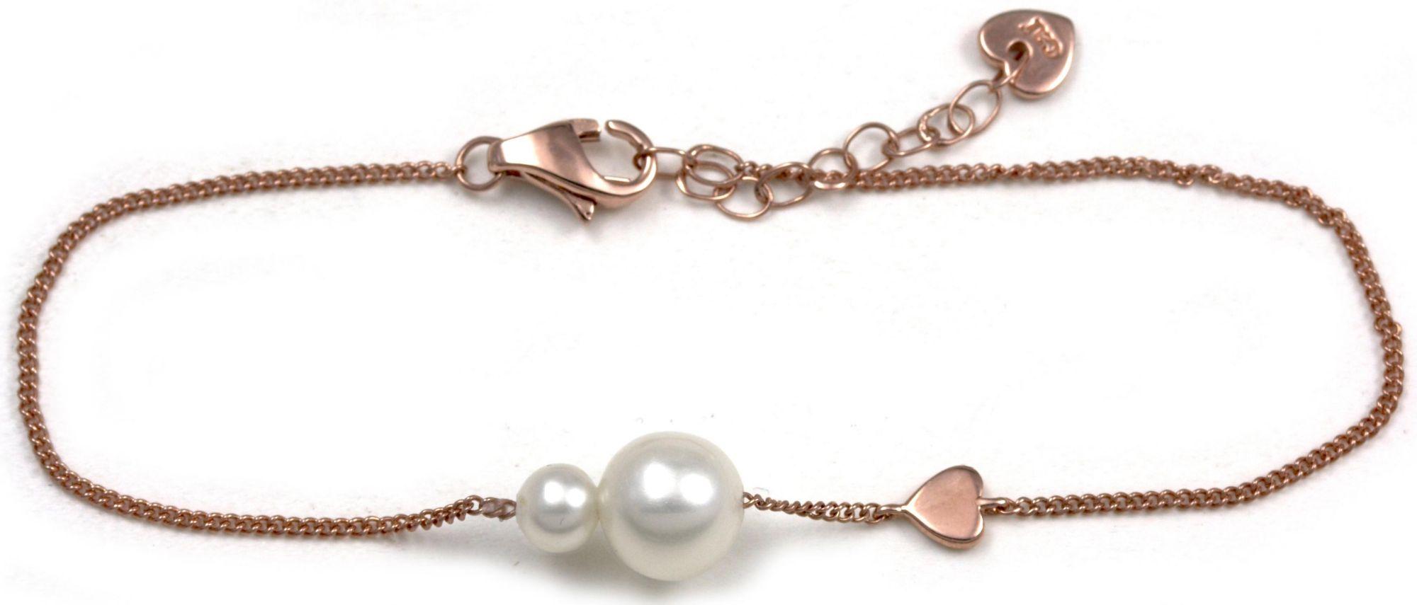 CAÏ  Armband »Pearl Love, C7164B/90/46/16+3«