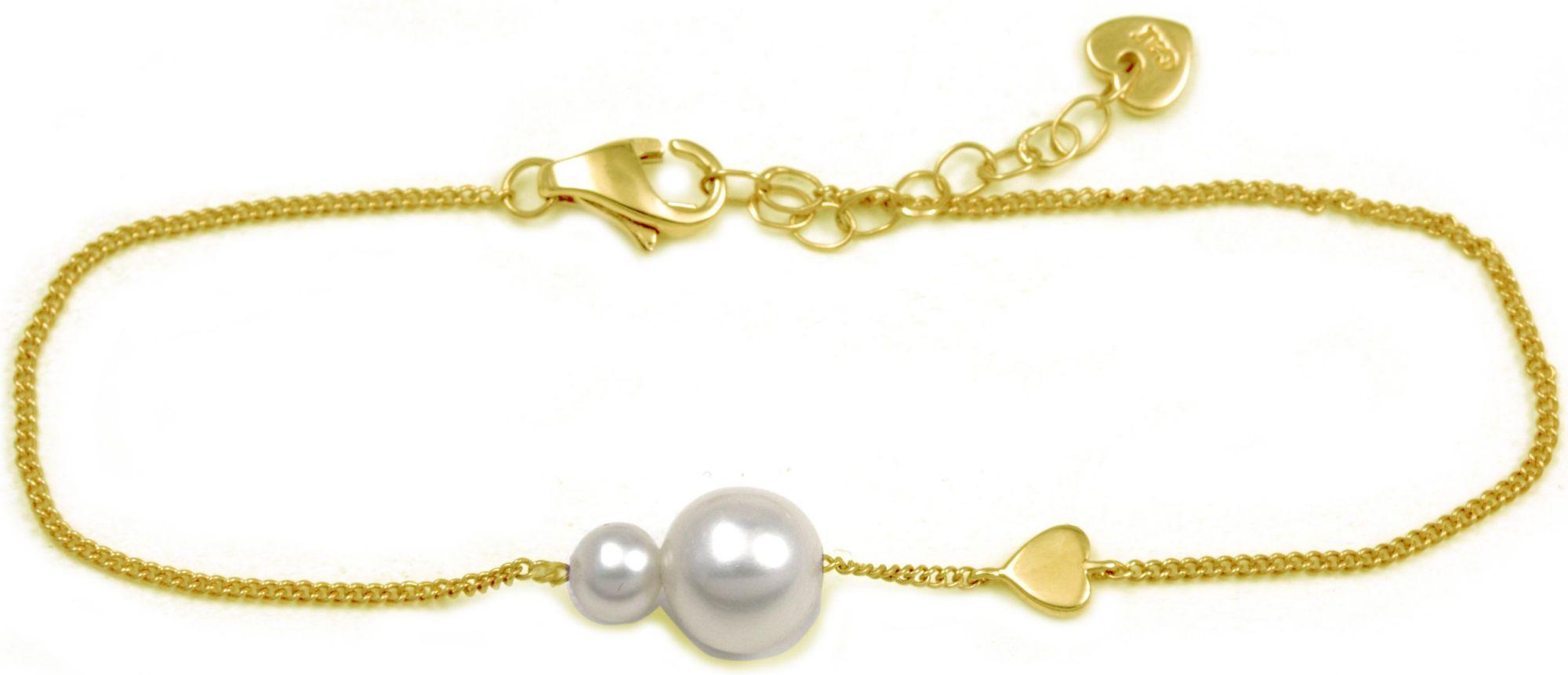 CAÏ Armband mit Süßwasserzuchtperlen CAI Gelb