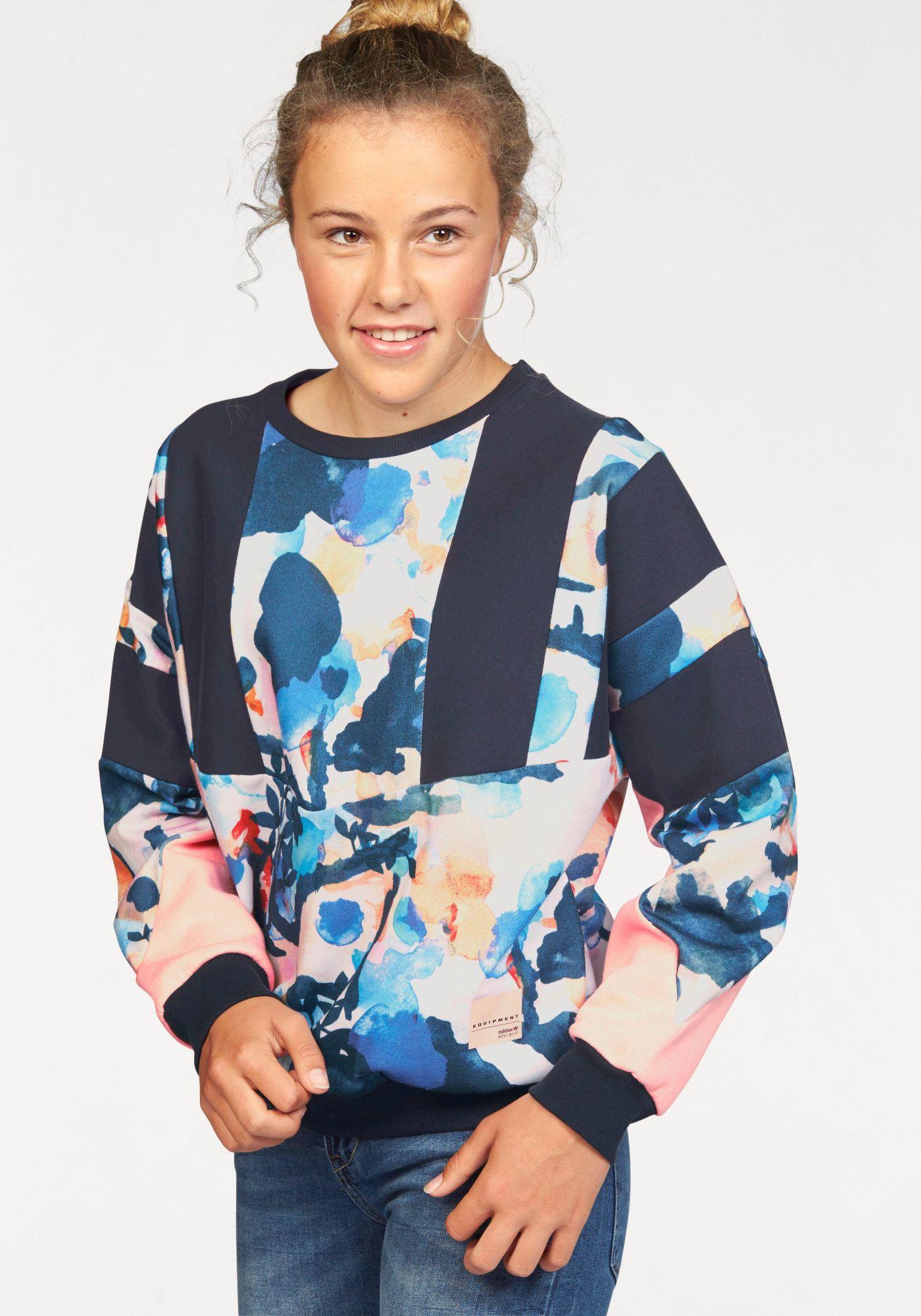 ADIDAS ORIGINALS adidas Originals Sweatshirt »J EQT CREW«