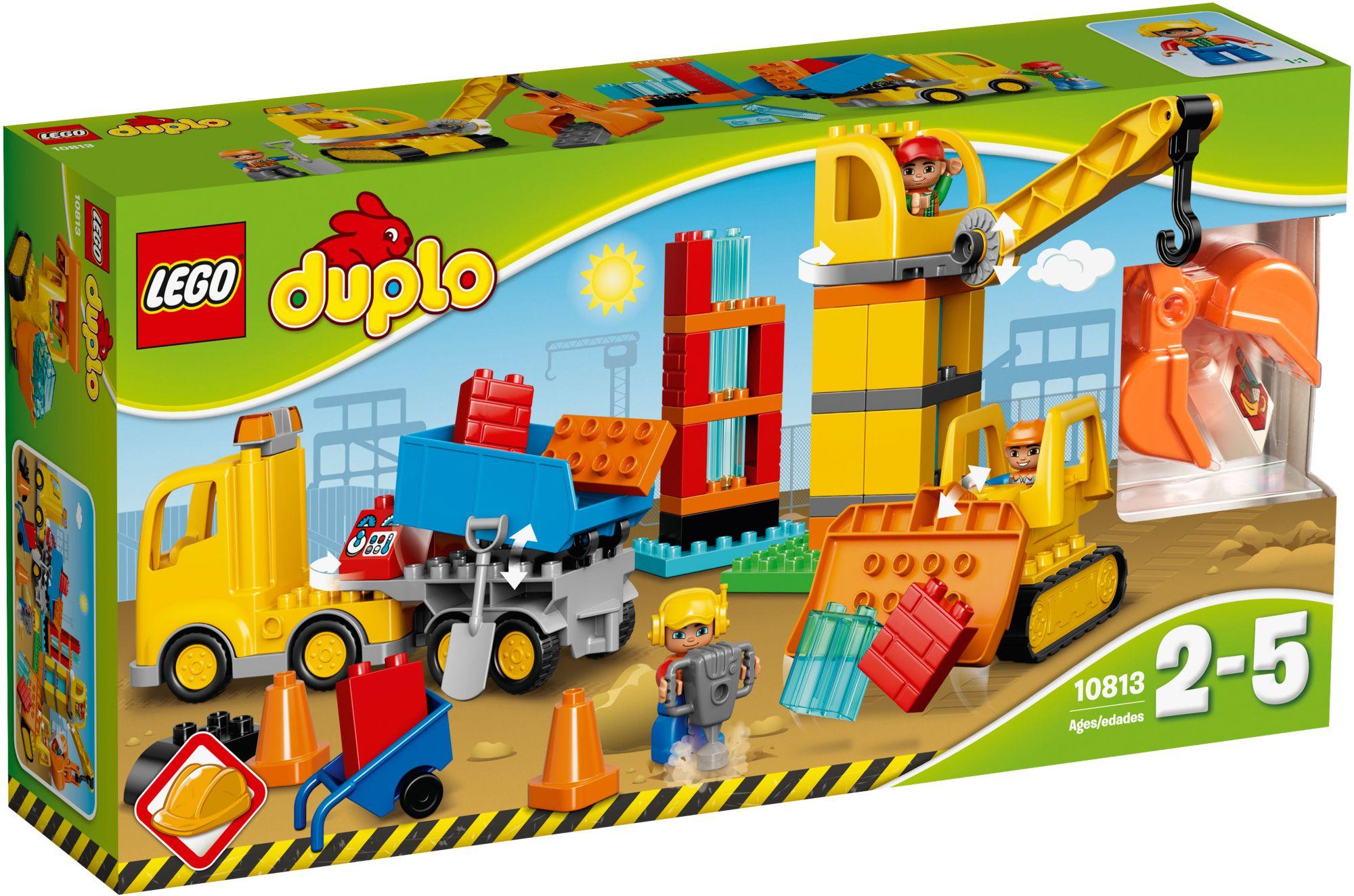 LEGO® 10813 DUPLO Große Baustelle, Konstruktionsspielzeug