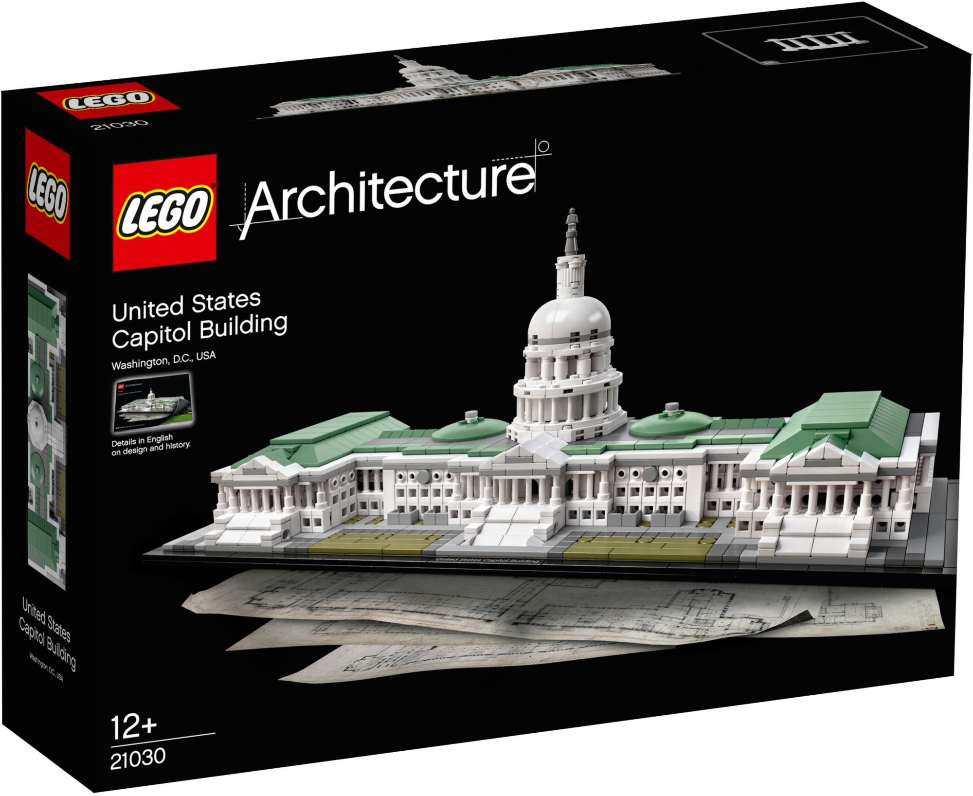 LEGO® 21030 Architecture Das Kapitol, Konstruktionsspielzeug