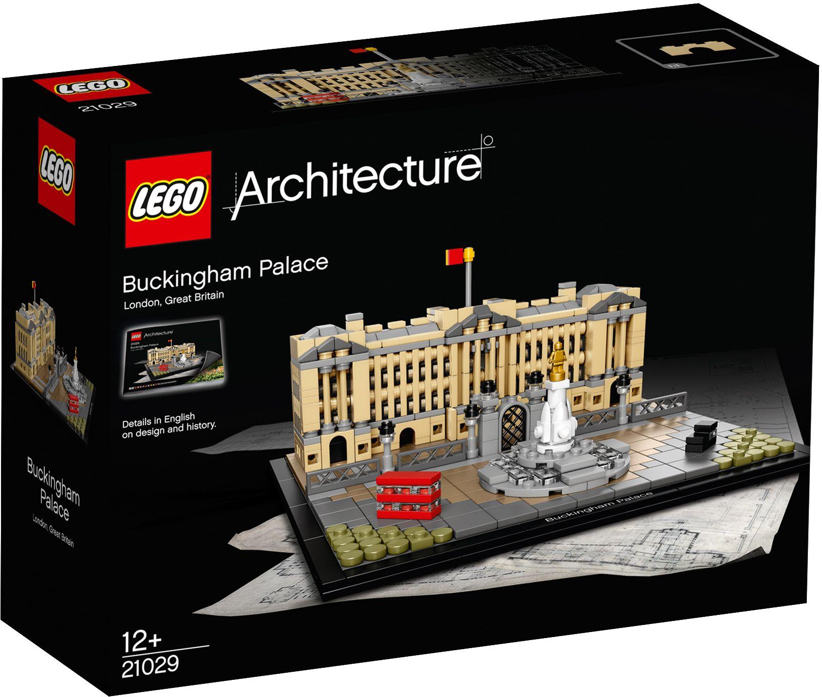 LEGO® 21029 Architecture Der Buckingham-Palast, Konstruktionsspielzeug