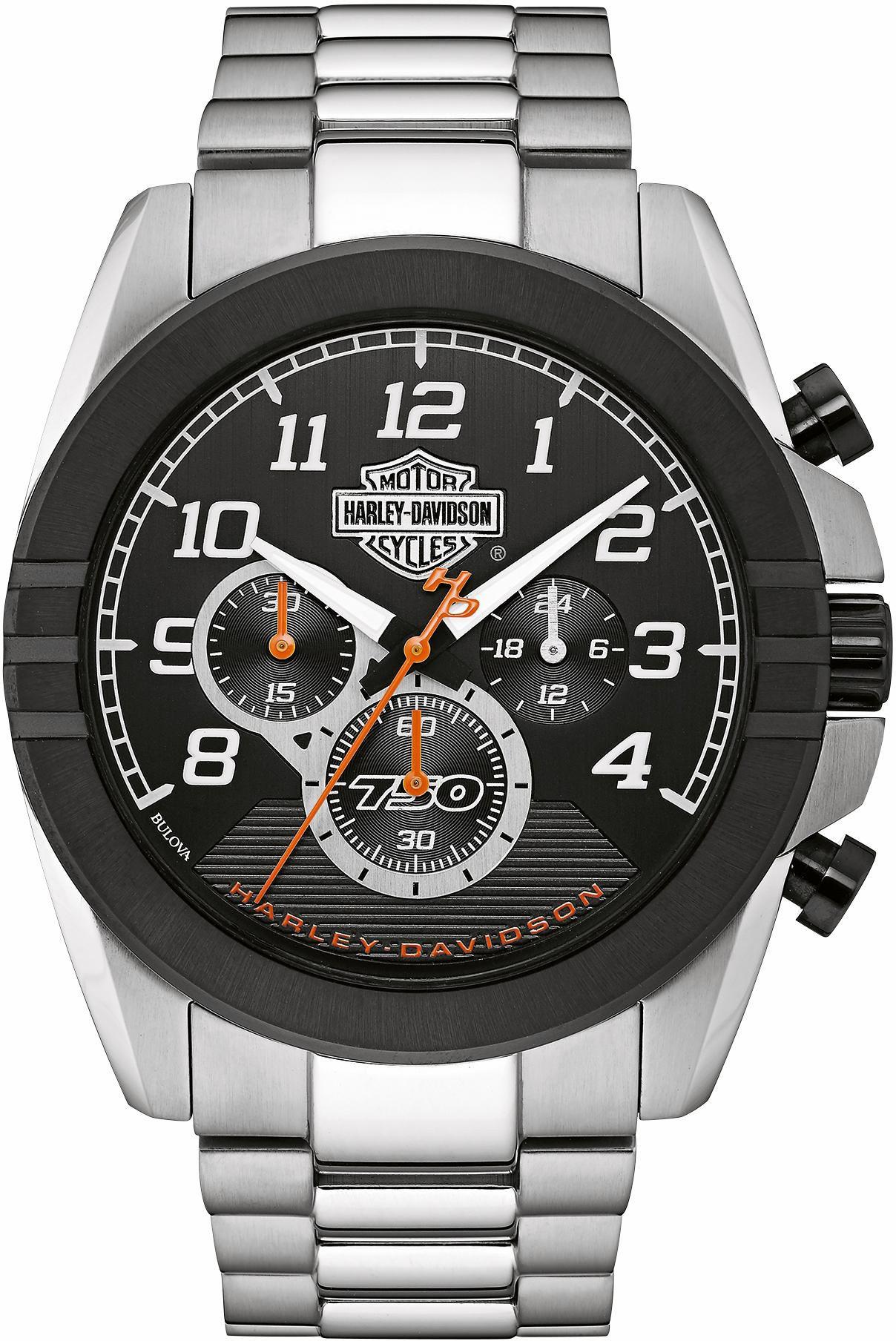 HARLEY DAVIDSON Harley Davidson Chronograph »Street, 76B175«