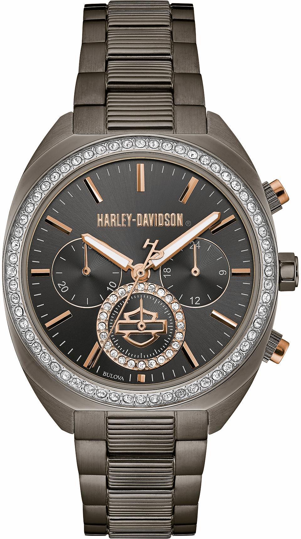 HARLEY DAVIDSON Harley Davidson Chronograph »Lady Gear, 78M103«