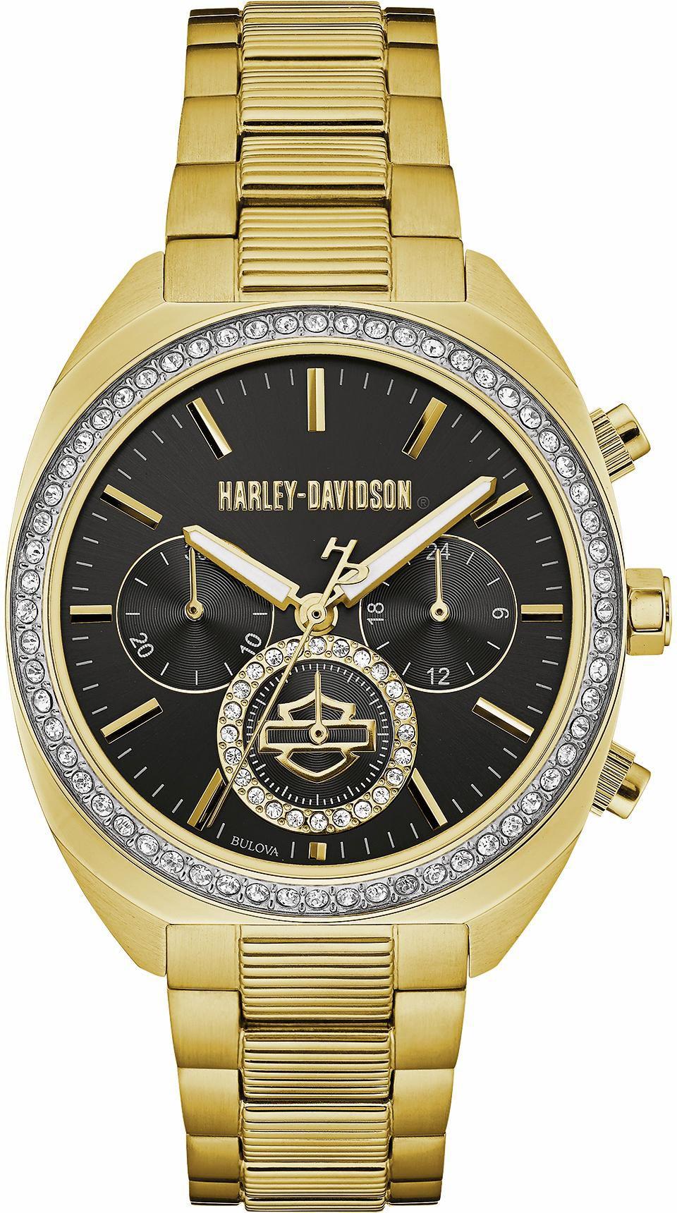 HARLEY DAVIDSON Harley Davidson Chronograph »Lady Gear, 77M103«