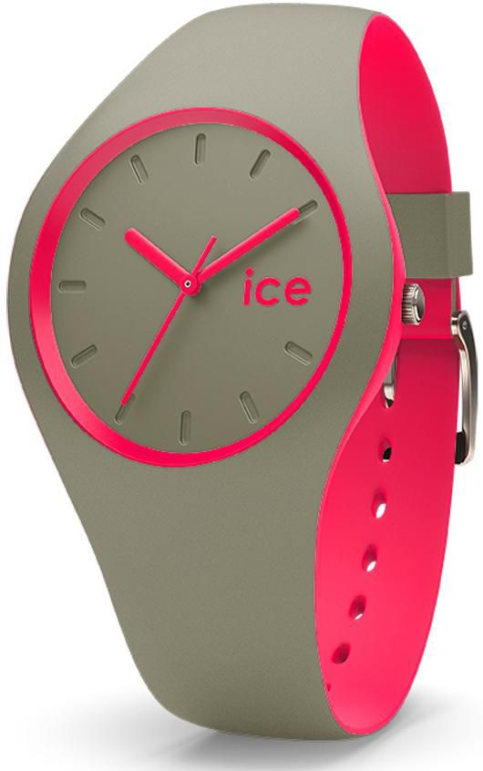 ICE WATCH ice-watch Quarzuhr »ICE duo - Khaki Pink, DUO.KPK.U.S.16«