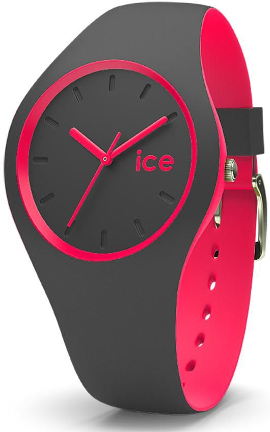 ICE WATCH ice-watch Quarzuhr »ICE duo - Anthracite Pink, DUO.APK.U.S.16«
